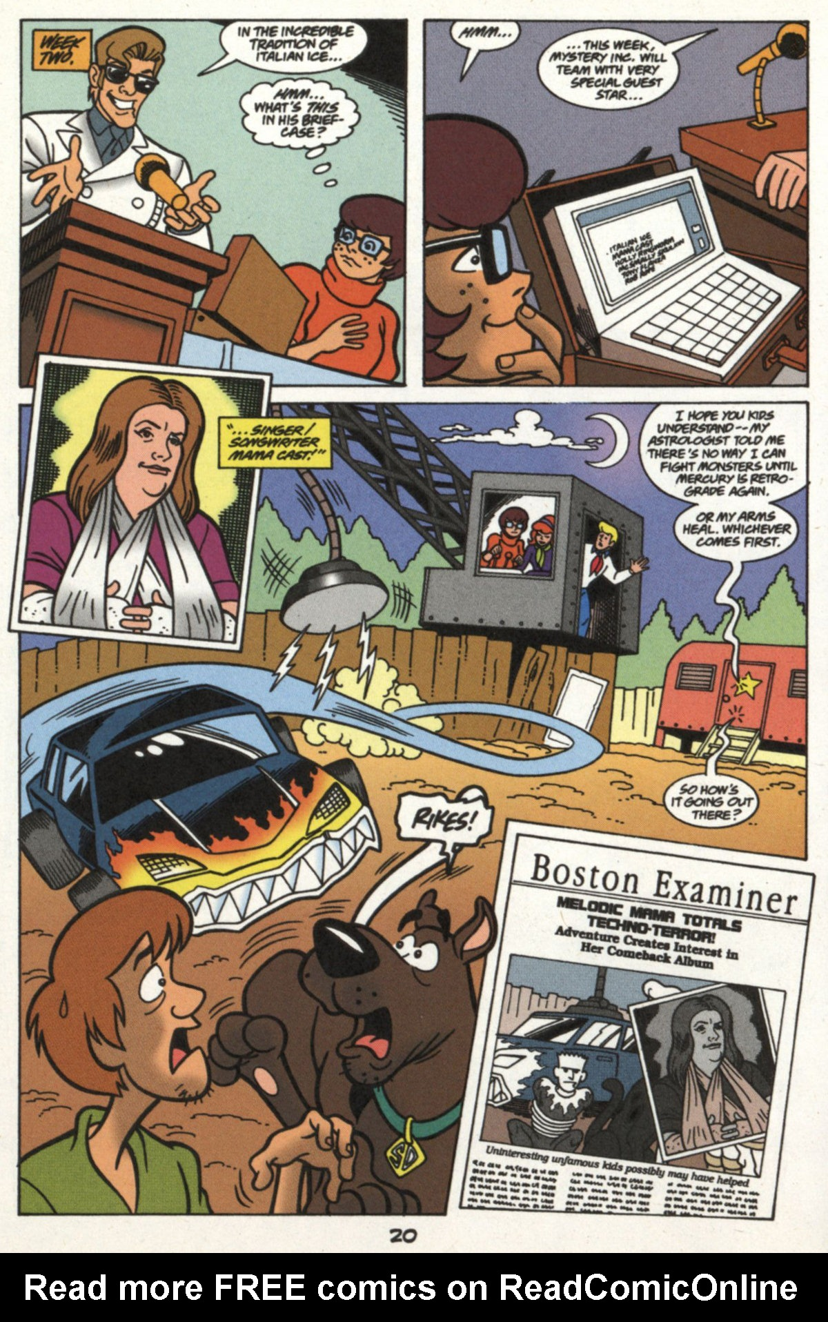 Read online Scooby-Doo (1997) comic -  Issue #16 - 19