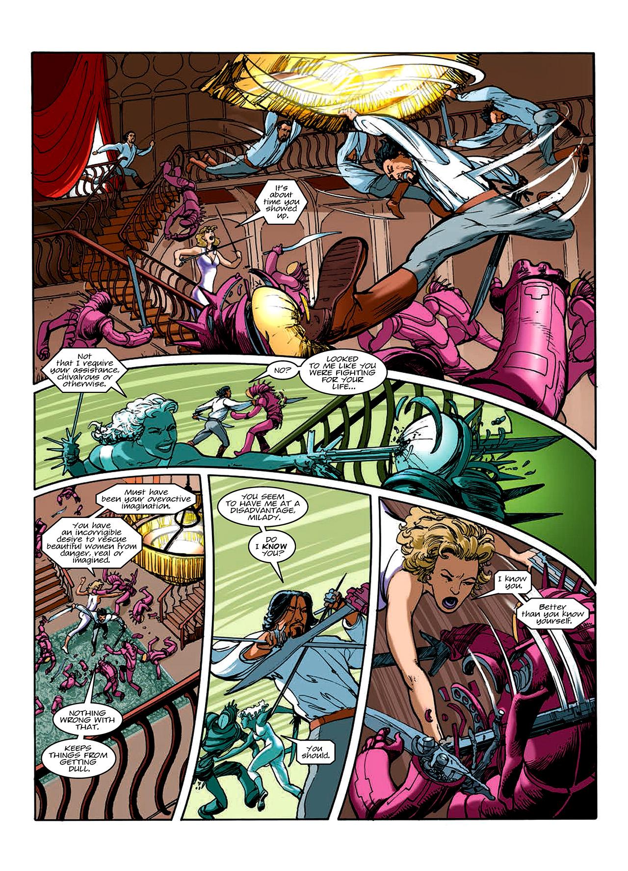 Read online Nikolai Dante comic -  Issue # TPB 10 - 123