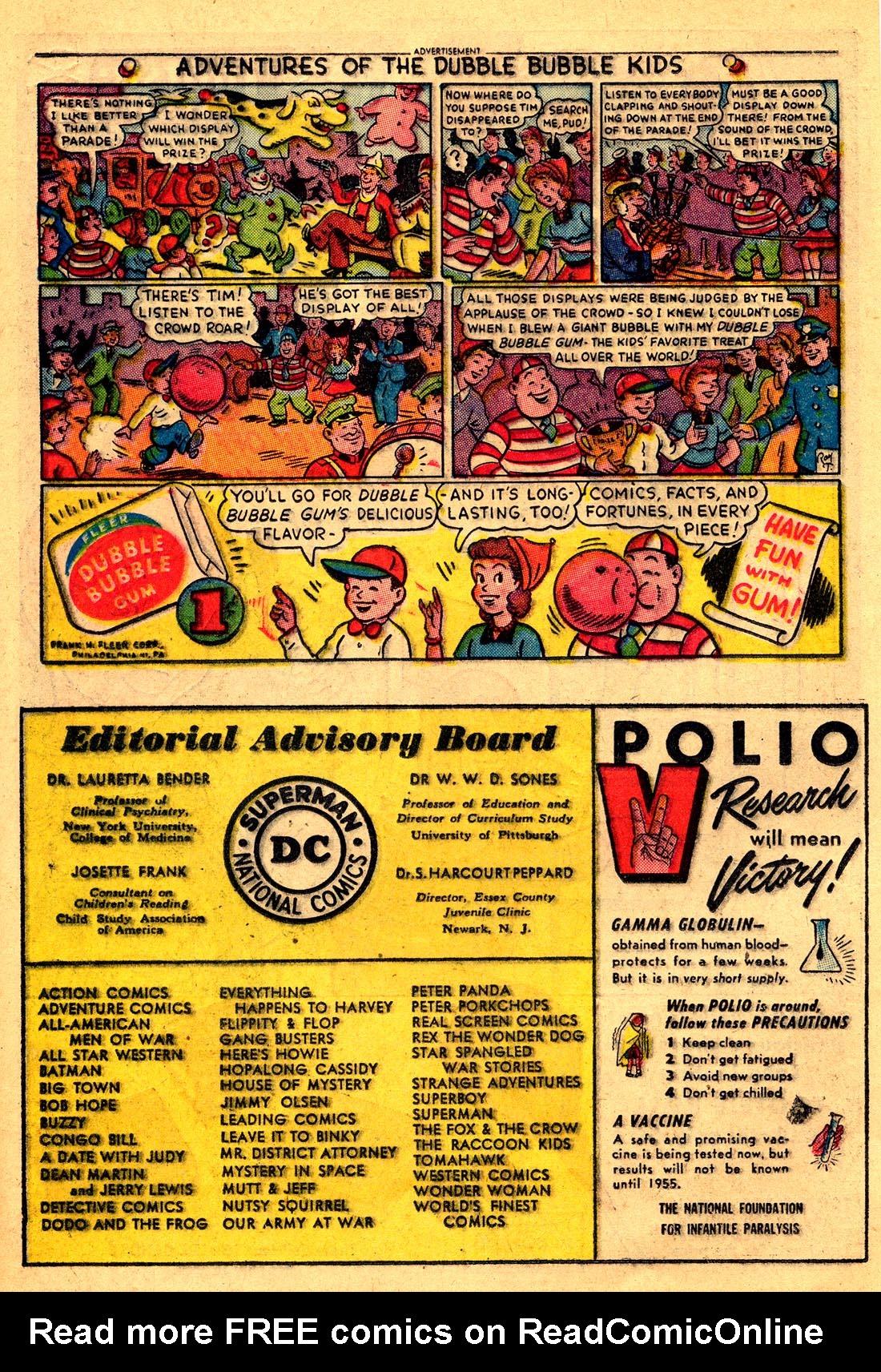Read online Adventure Comics (1938) comic -  Issue #204 - 16