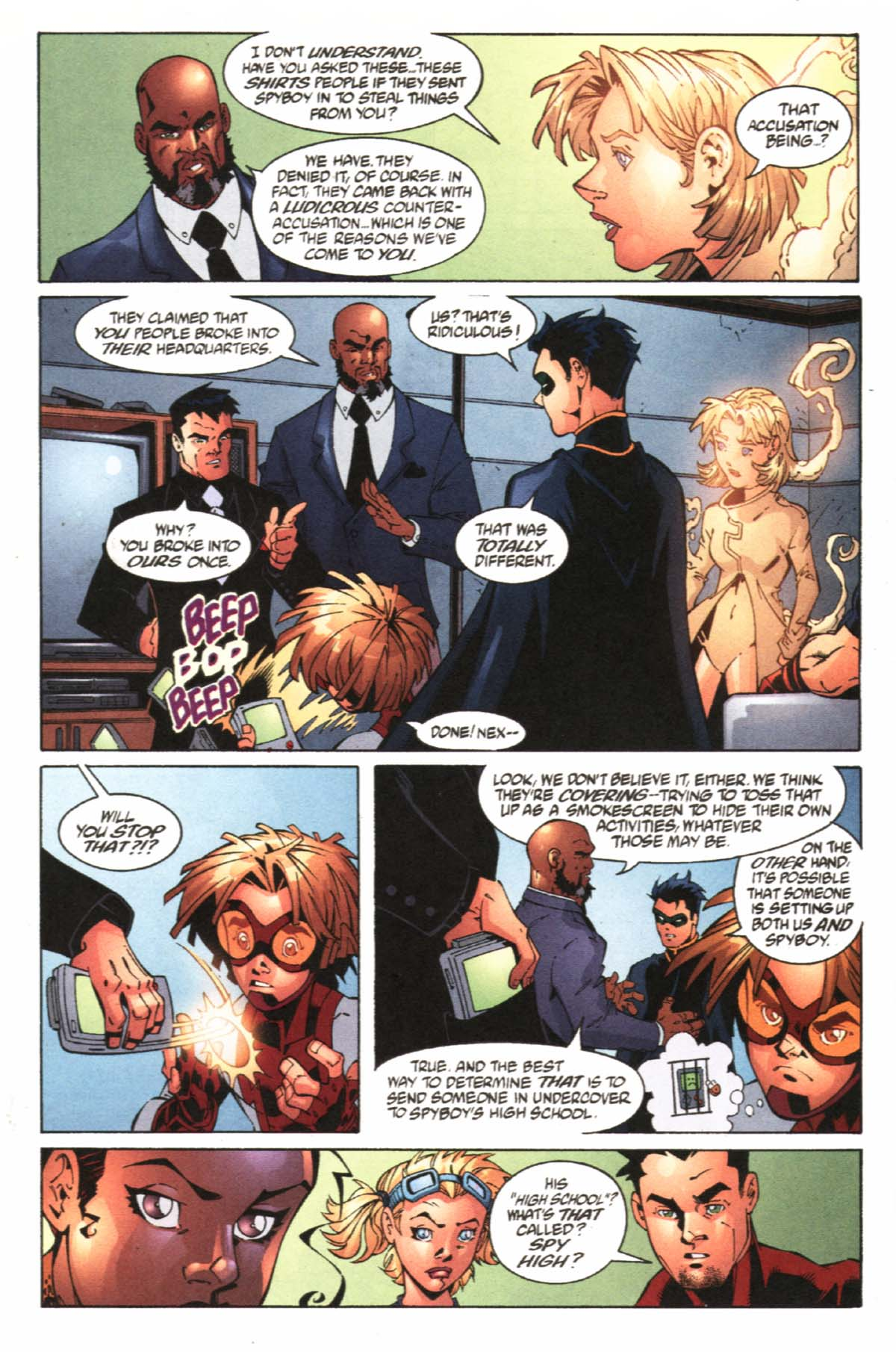 Read online SpyBoy/Young Justice comic -  Issue #1 - 10