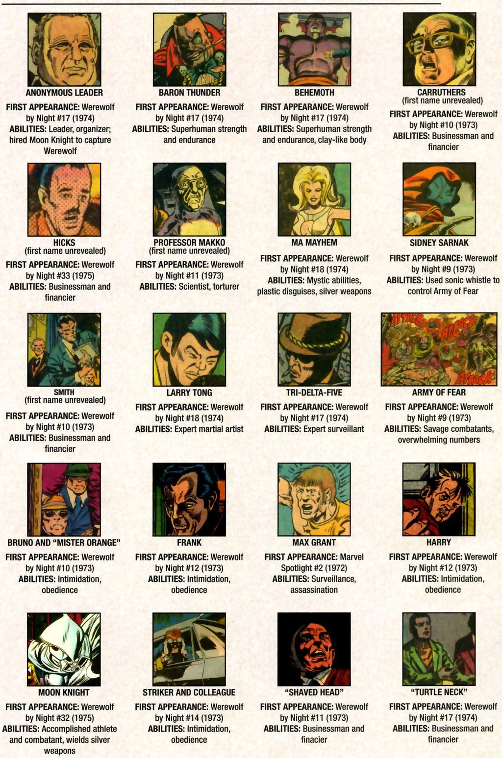 Read online Marvel Legacy: The 1970's Handbook comic -  Issue # Full - 11