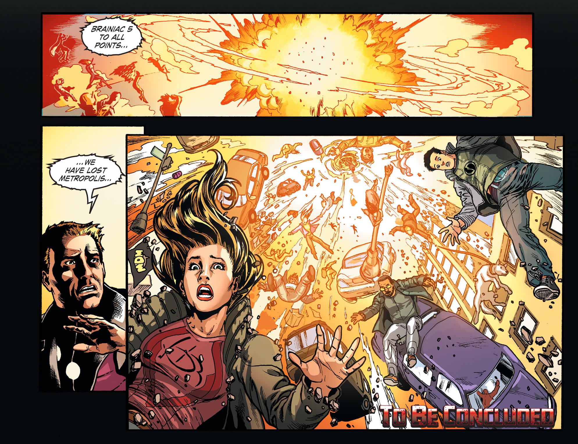 Read online Smallville: Season 11 comic -  Issue #52 - 22