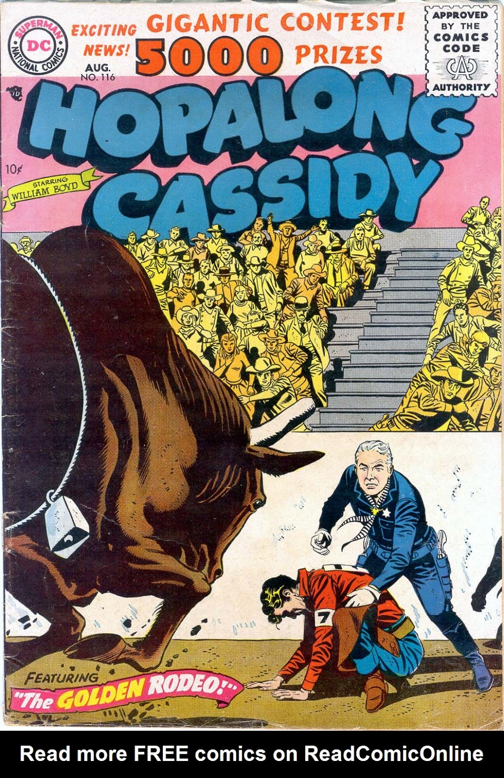 Hopalong Cassidy issue 116 - Page 1