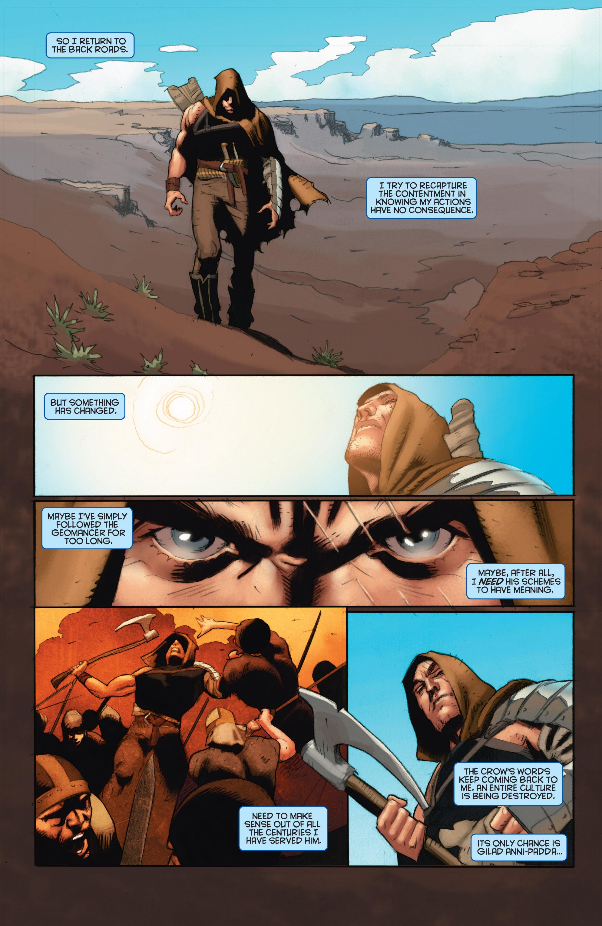 Read online Eternal Warrior: Days of Steel comic -  Issue #1 - 12