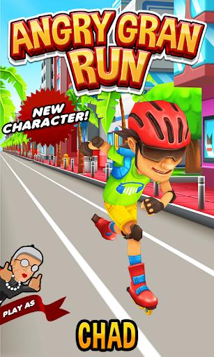 Angry Gran Run Running Game Hack Full Tiền Vàng Kim Cương Cho Android
