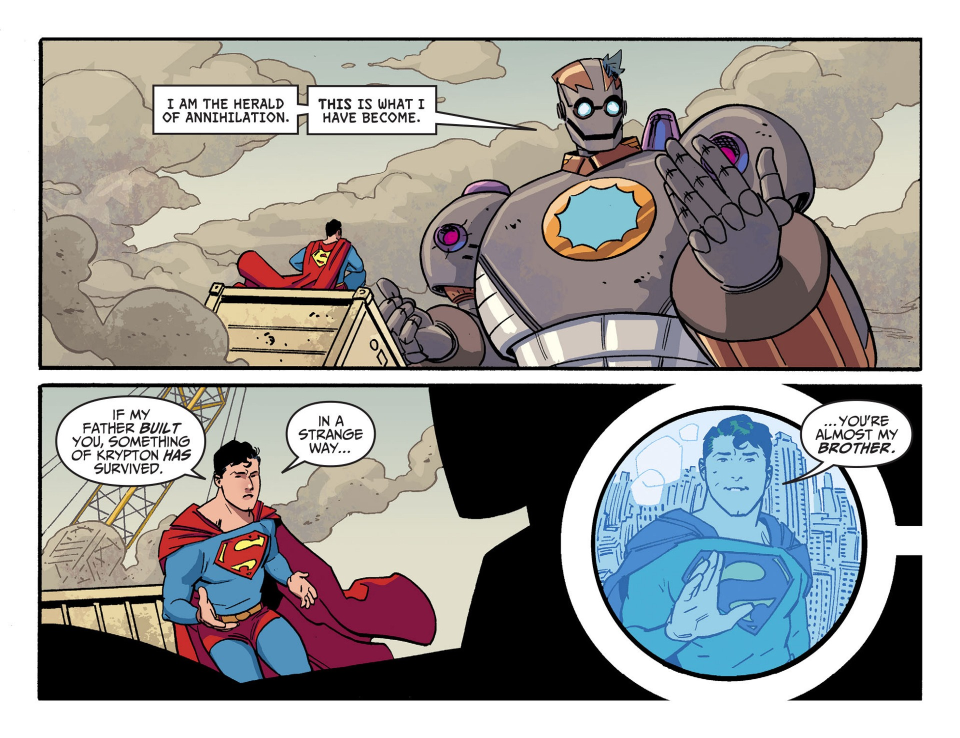 Read online Adventures of Superman [I] comic -  Issue #44 - 17