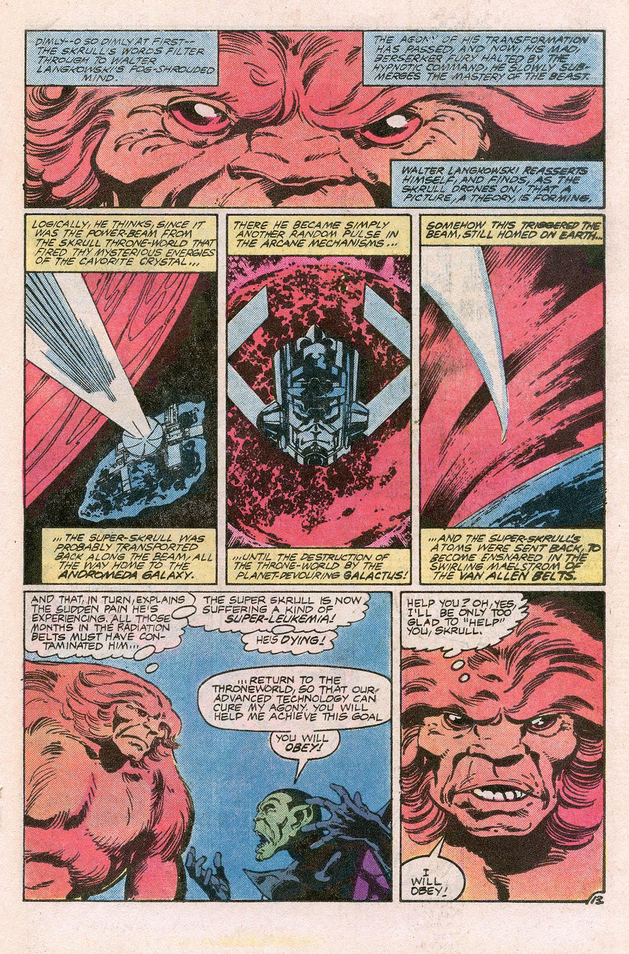Read online Alpha Flight (1983) comic -  Issue #10 - 19