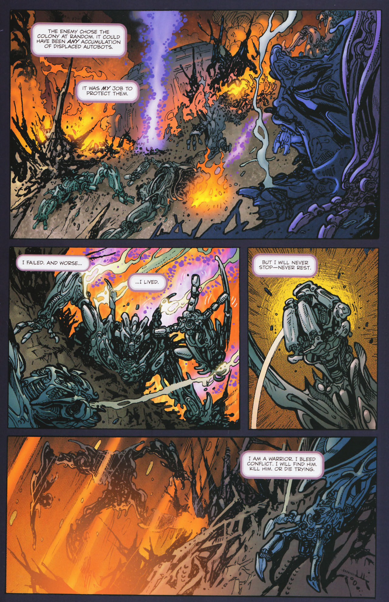 Read online Transformers: Tales of The Fallen comic -  Issue #2 - 3
