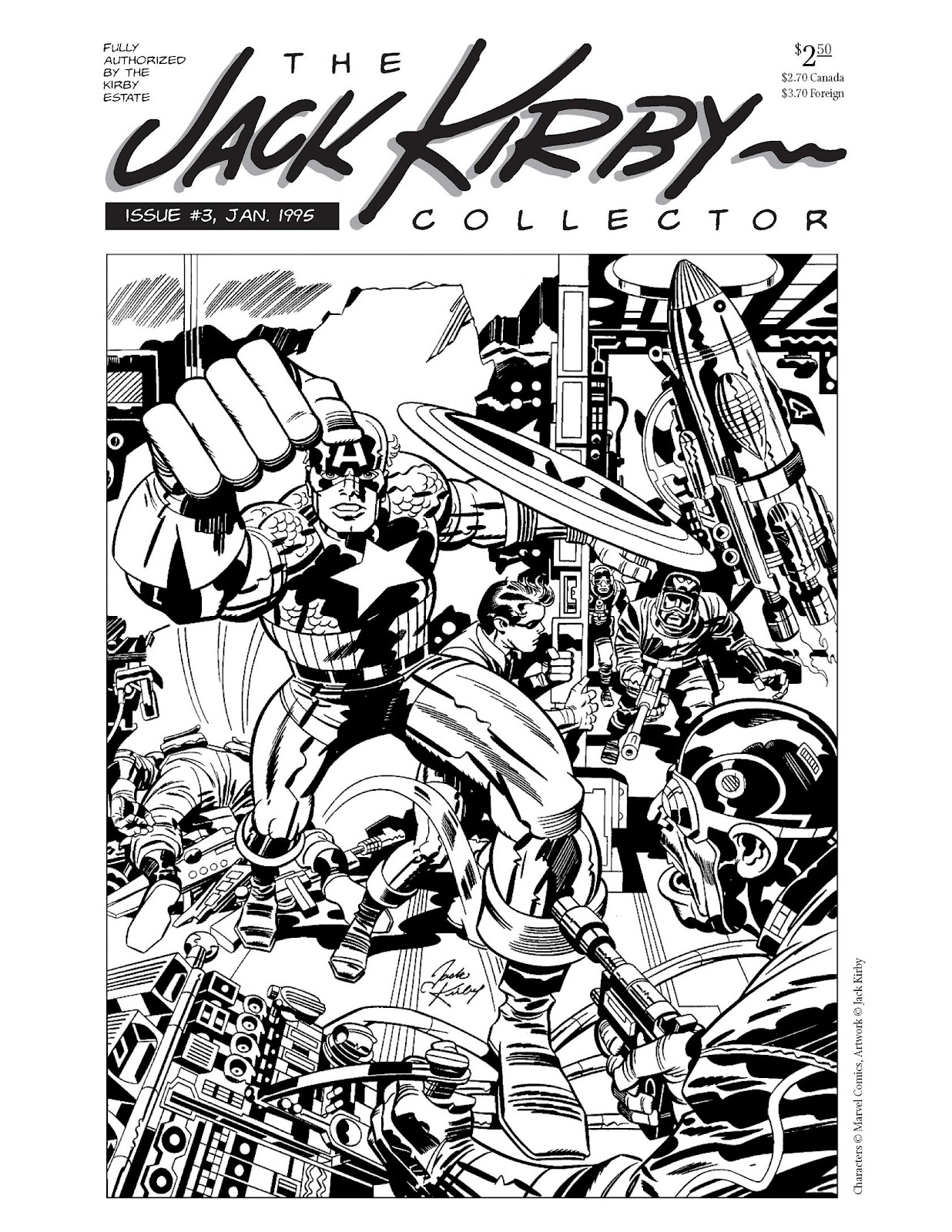 The Jack Kirby Collector 3 Page 1