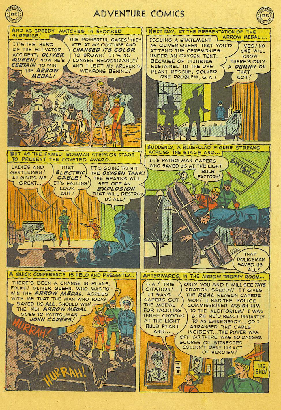 Read online Adventure Comics (1938) comic -  Issue #169 - 23