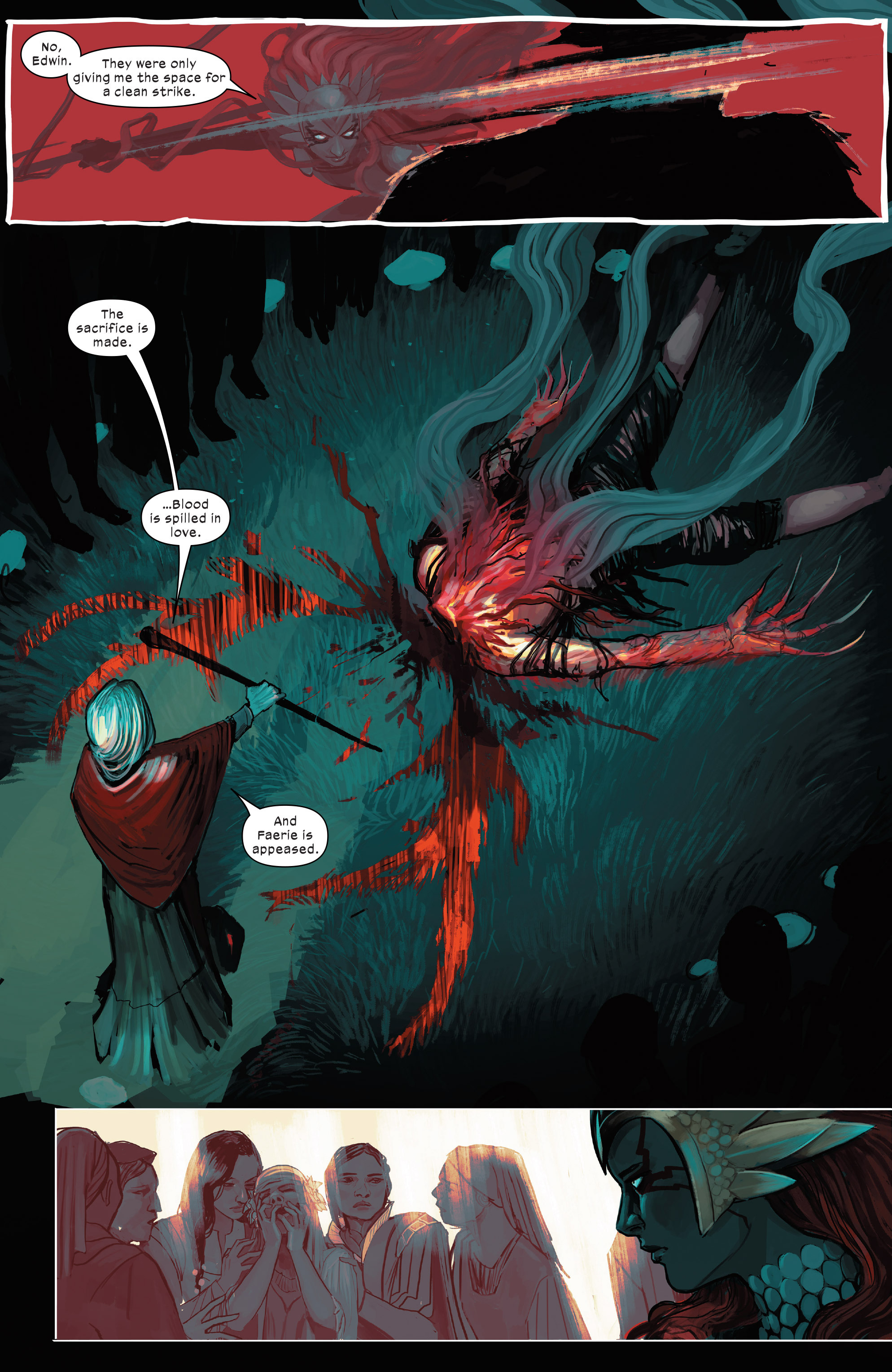 Read online 1602 Witch Hunter Angela comic -  Issue #2 - 19