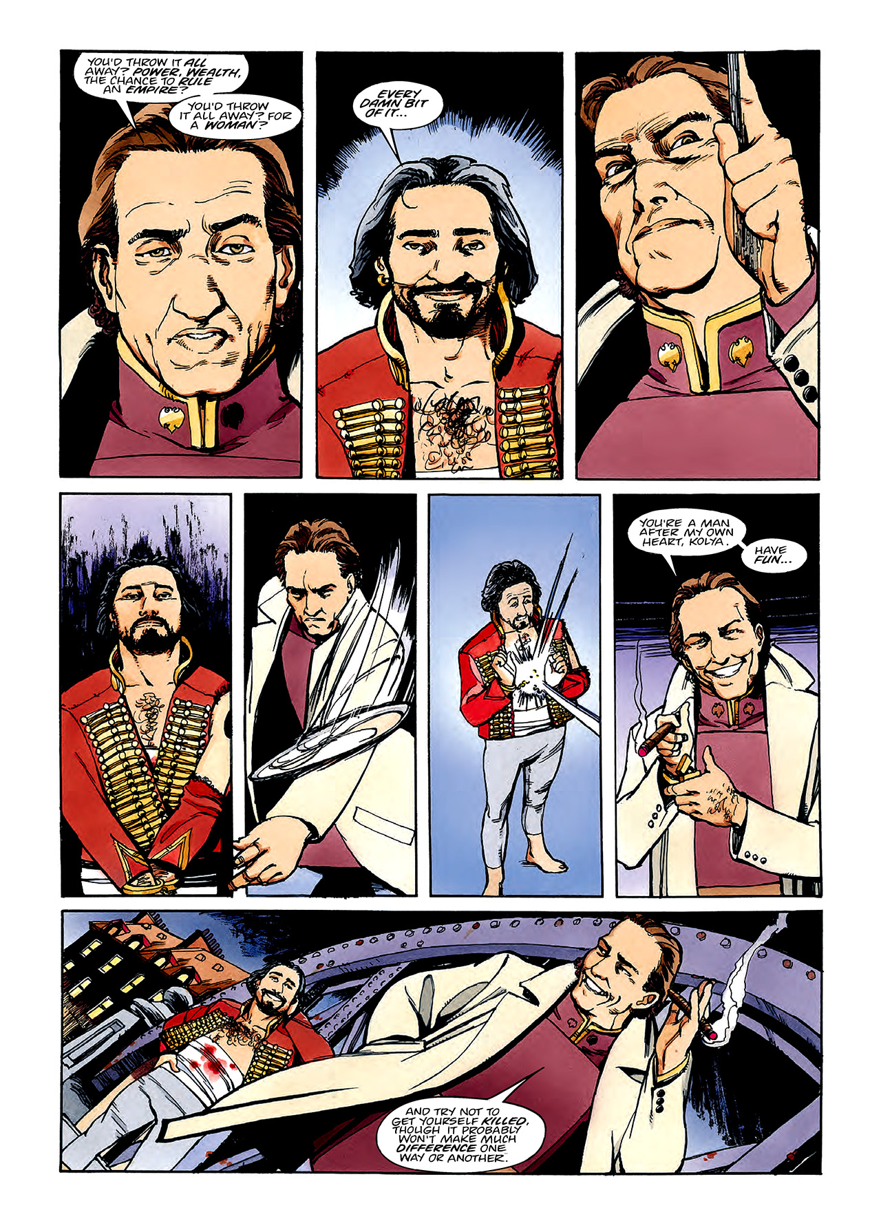 Read online Nikolai Dante comic -  Issue # TPB 3 - 96