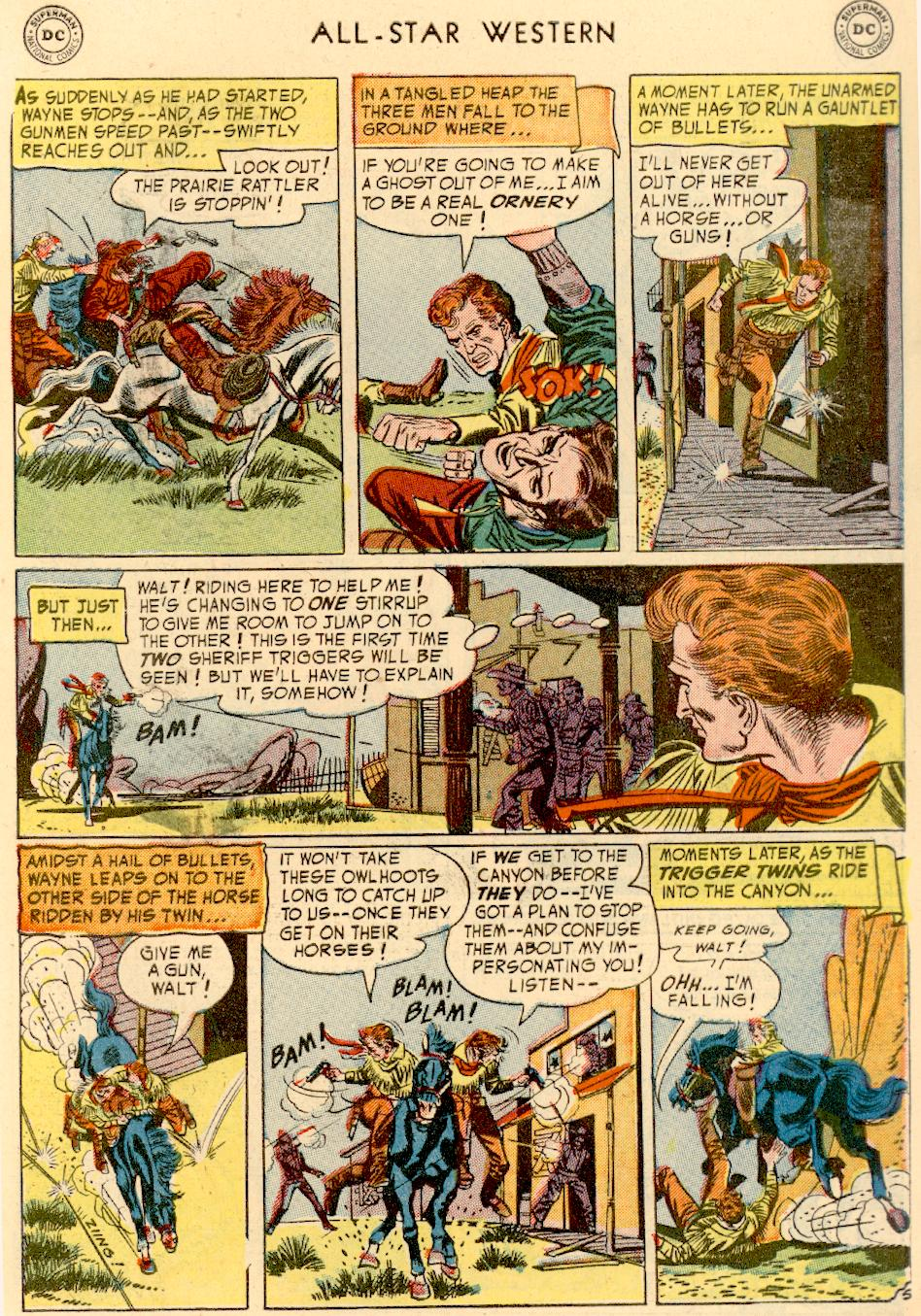 Read online All-Star Western (1951) comic -  Issue #73 - 7