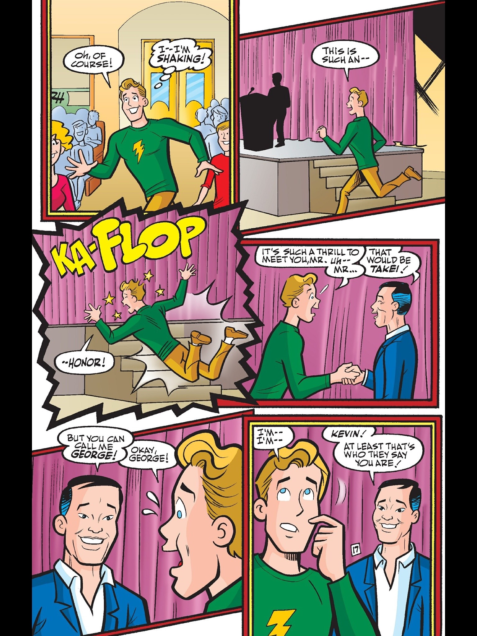 Read online Kevin Keller comic -  Issue #6 - 18