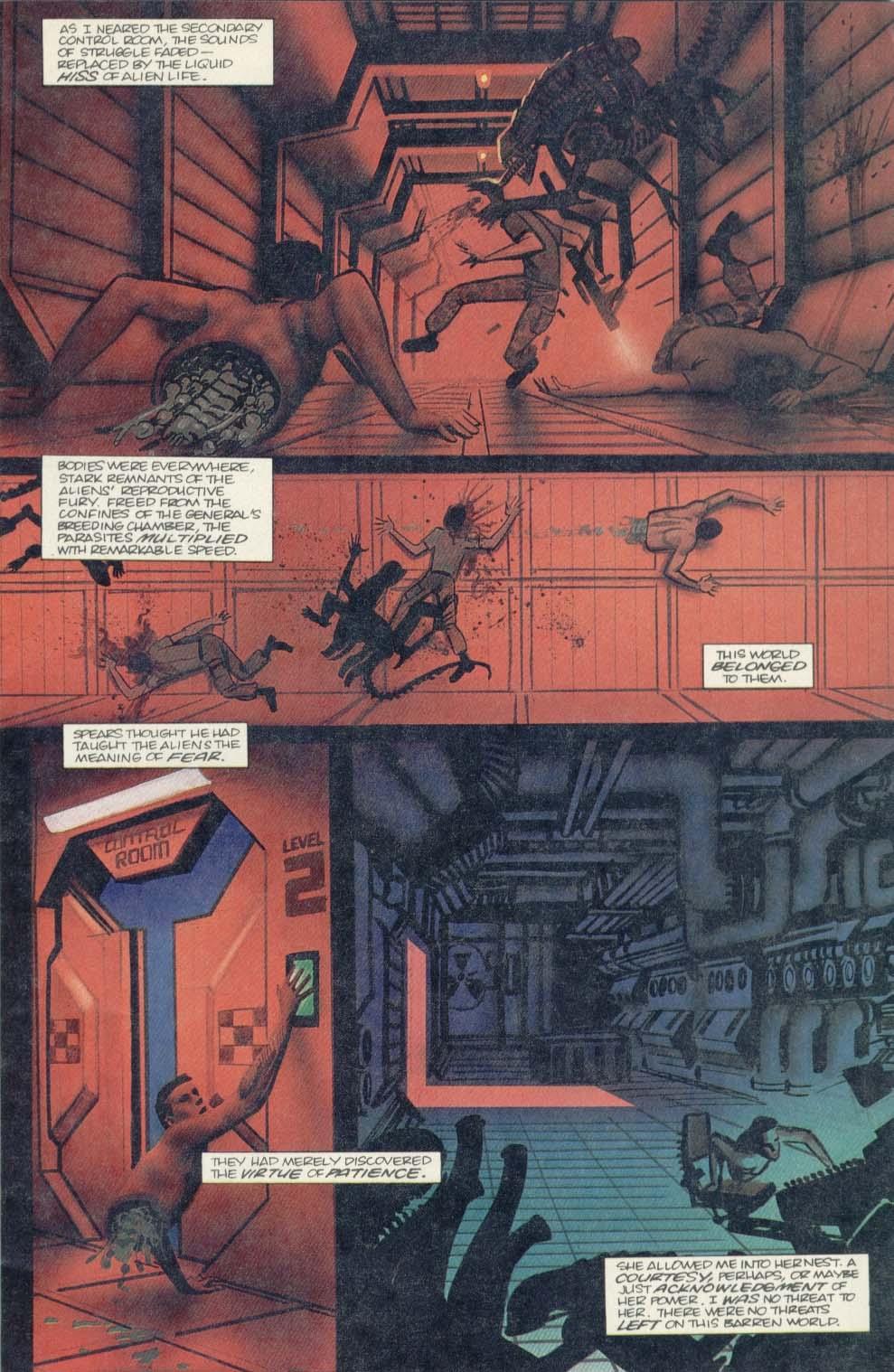Read online Aliens (1989) comic -  Issue #4 - 7