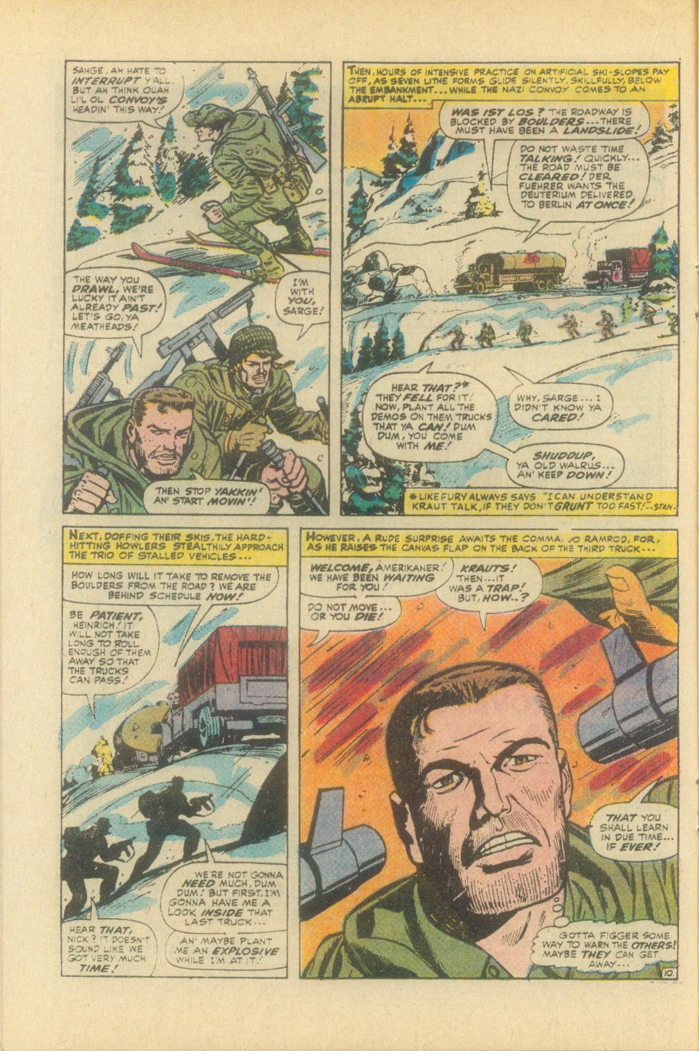 Read online Sgt. Fury comic -  Issue #93 - 16