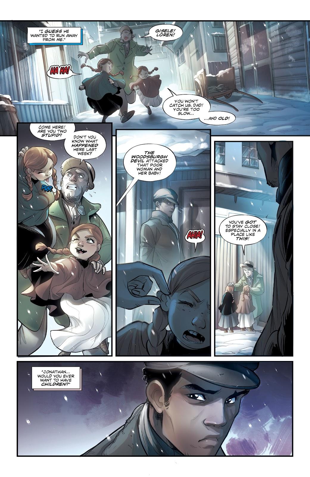 Read online Mirka Andolfo's Mercy comic -  Issue #3 - 8