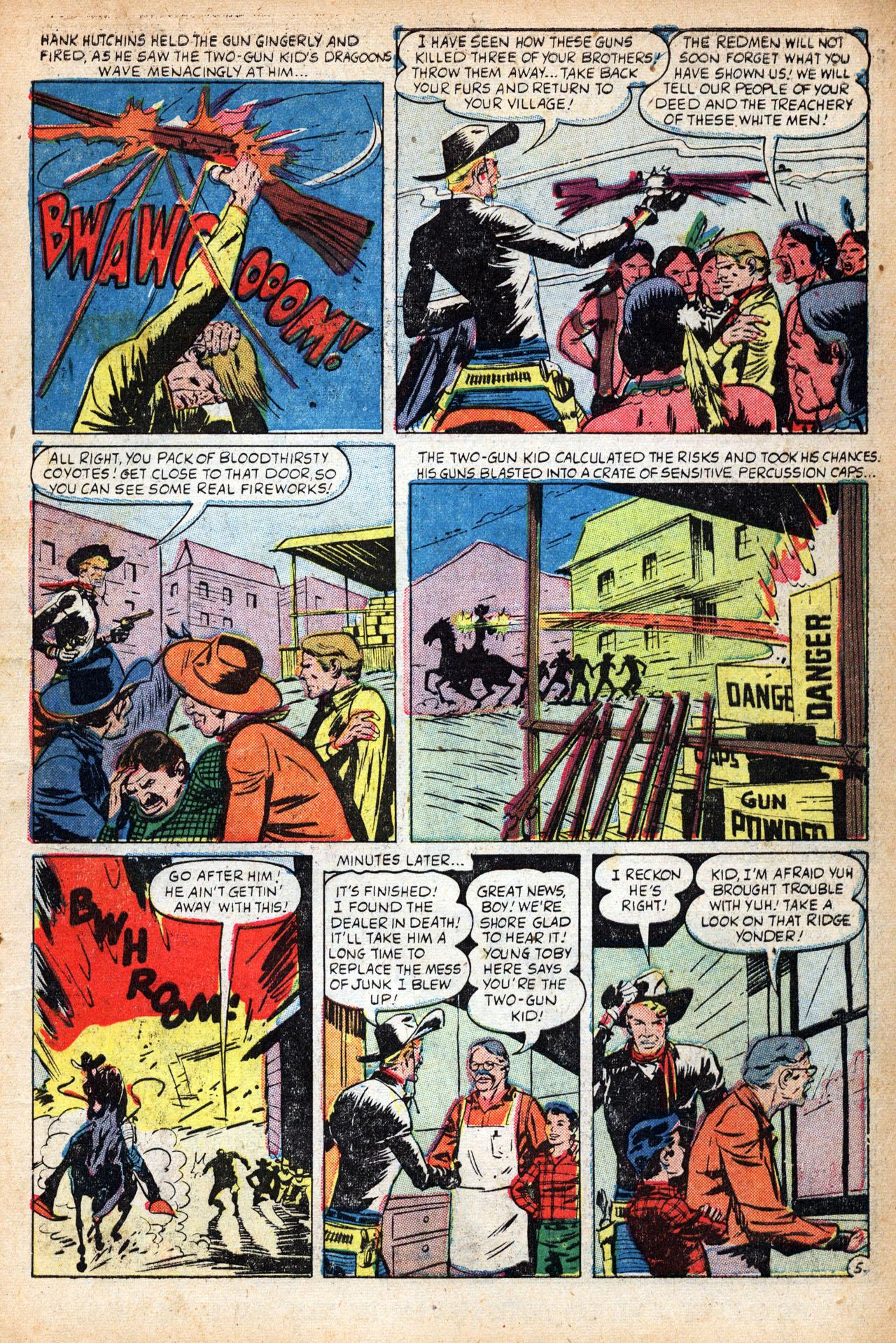 Read online Two-Gun Kid comic -  Issue #18 - 7