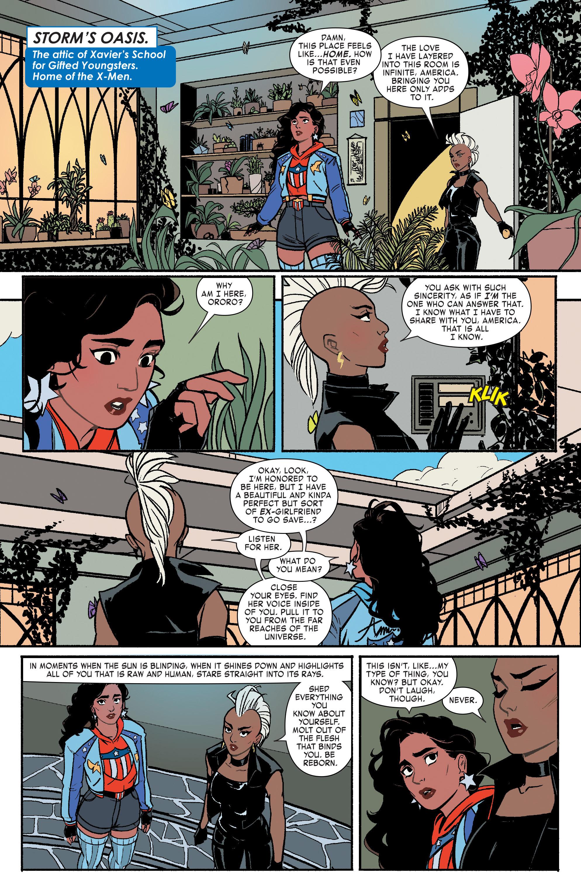 Read online America (2017) comic -  Issue #3 - 10