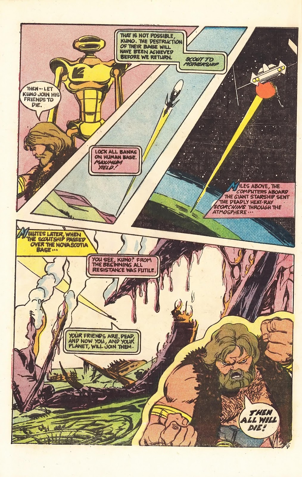 Read online Doomsday   1 (1975) comic -  Issue #3 - 27