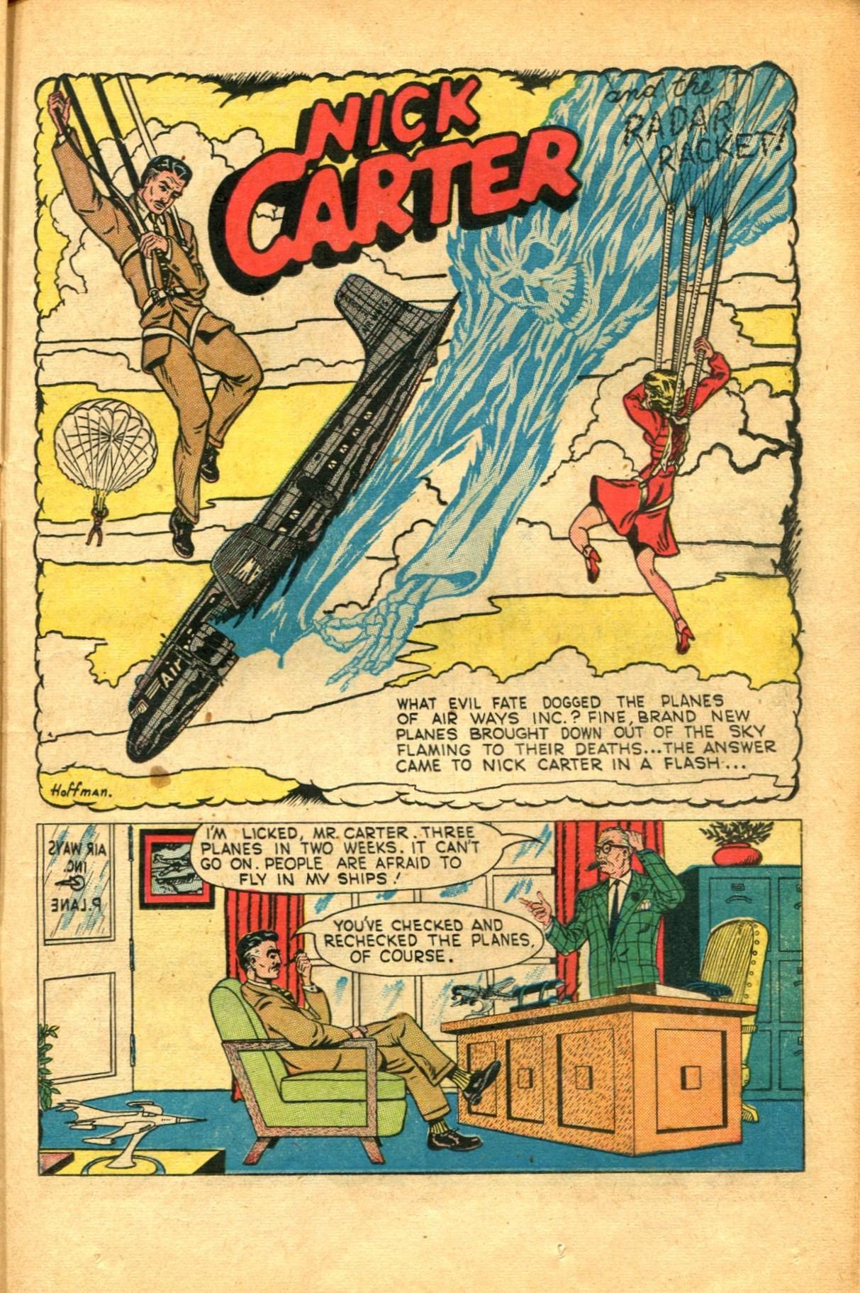 Read online Shadow Comics comic -  Issue #91 - 31