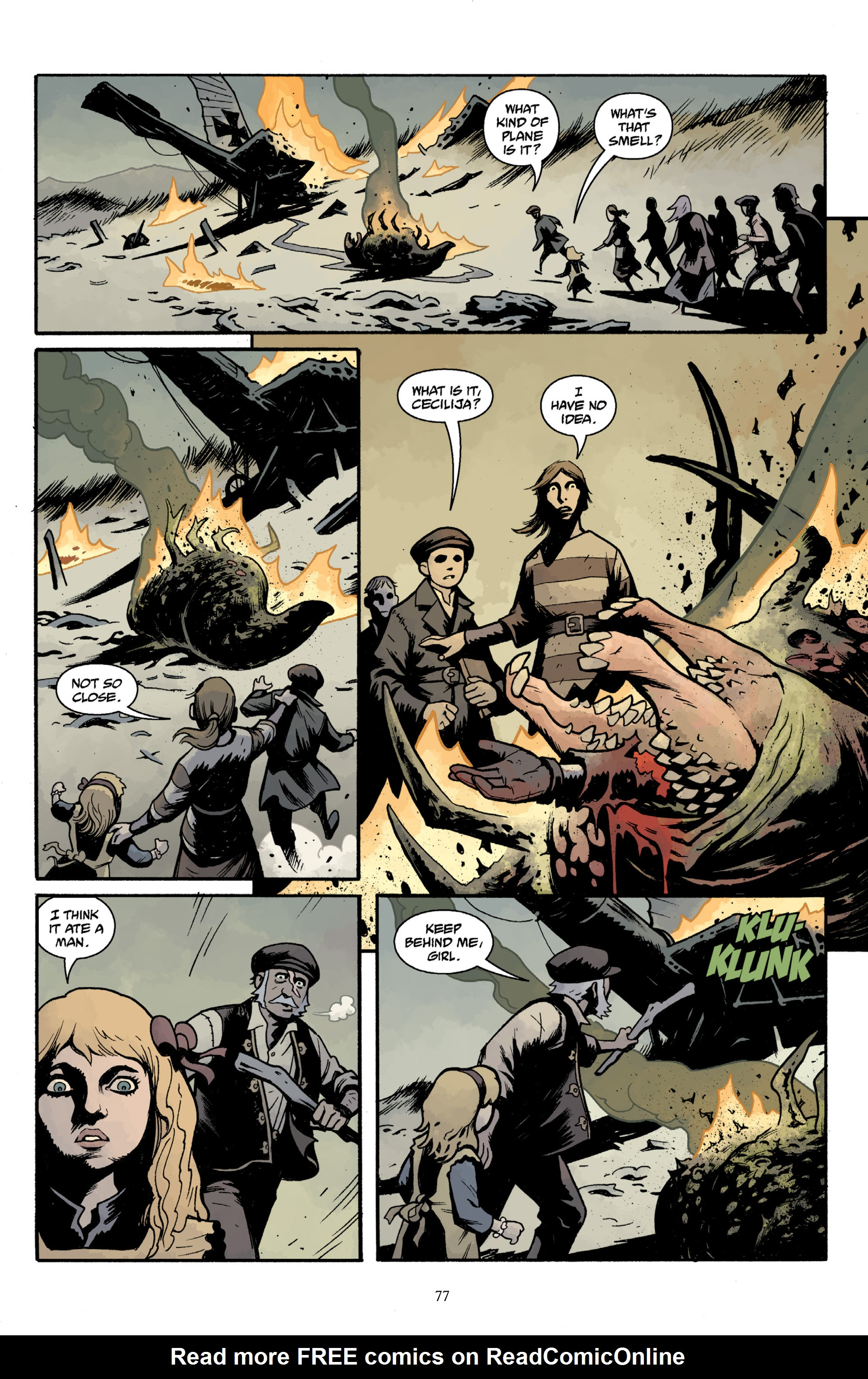 Read online Baltimore Volume 3: A Passing Stranger and Other Stories comic -  Issue # Full - 79