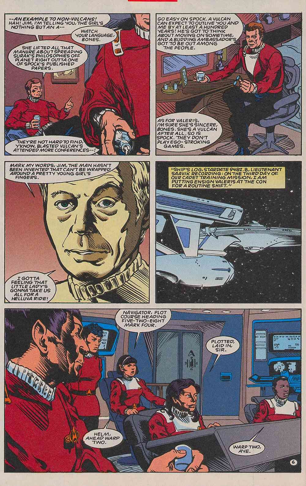 Read online Star Trek (1989) comic -  Issue # _Special 2 - 38