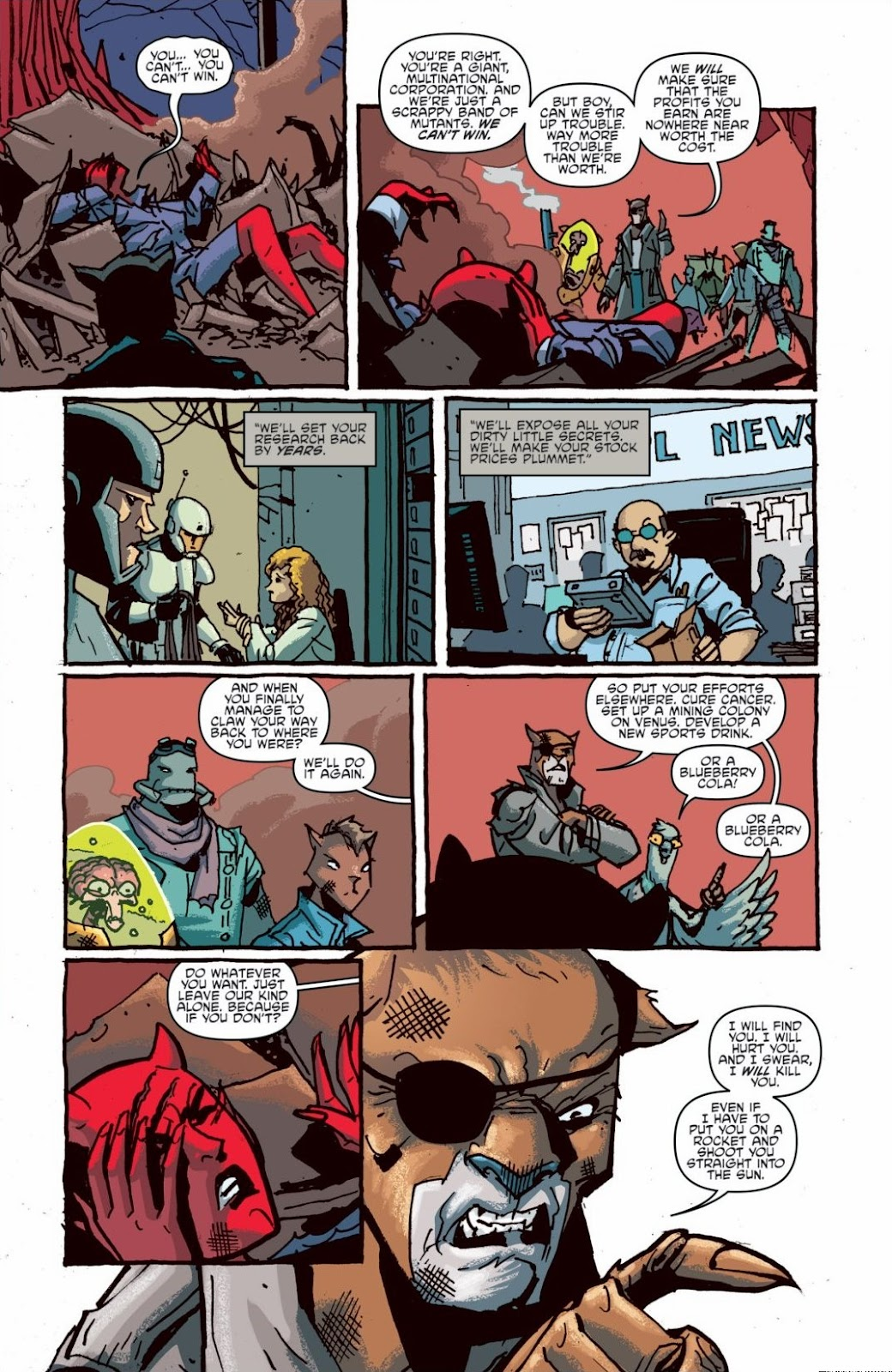 Read online Teenage Mutant Ninja Turtles: The IDW Collection comic -  Issue # TPB 6 (Part 1) - 96