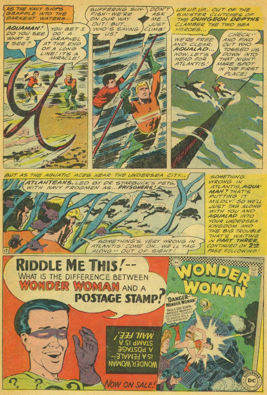 Read online Aquaman (1962) comic -  Issue #28 - 22