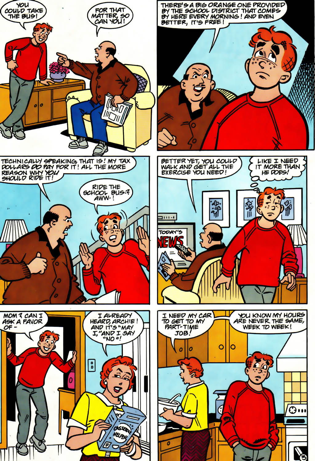 Read online Archie (1960) comic -  Issue #561 - 10