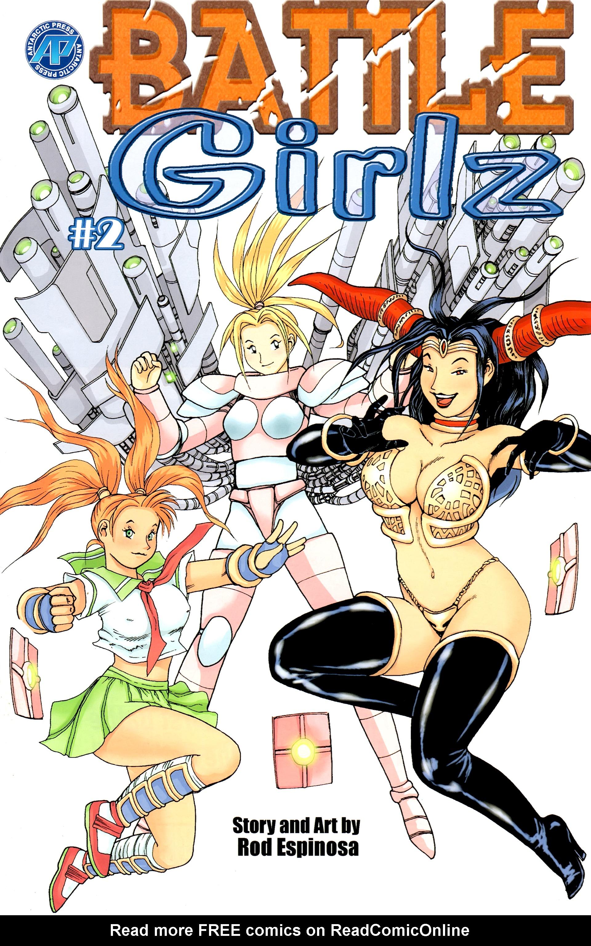 Battle Girlz 2 Page 1