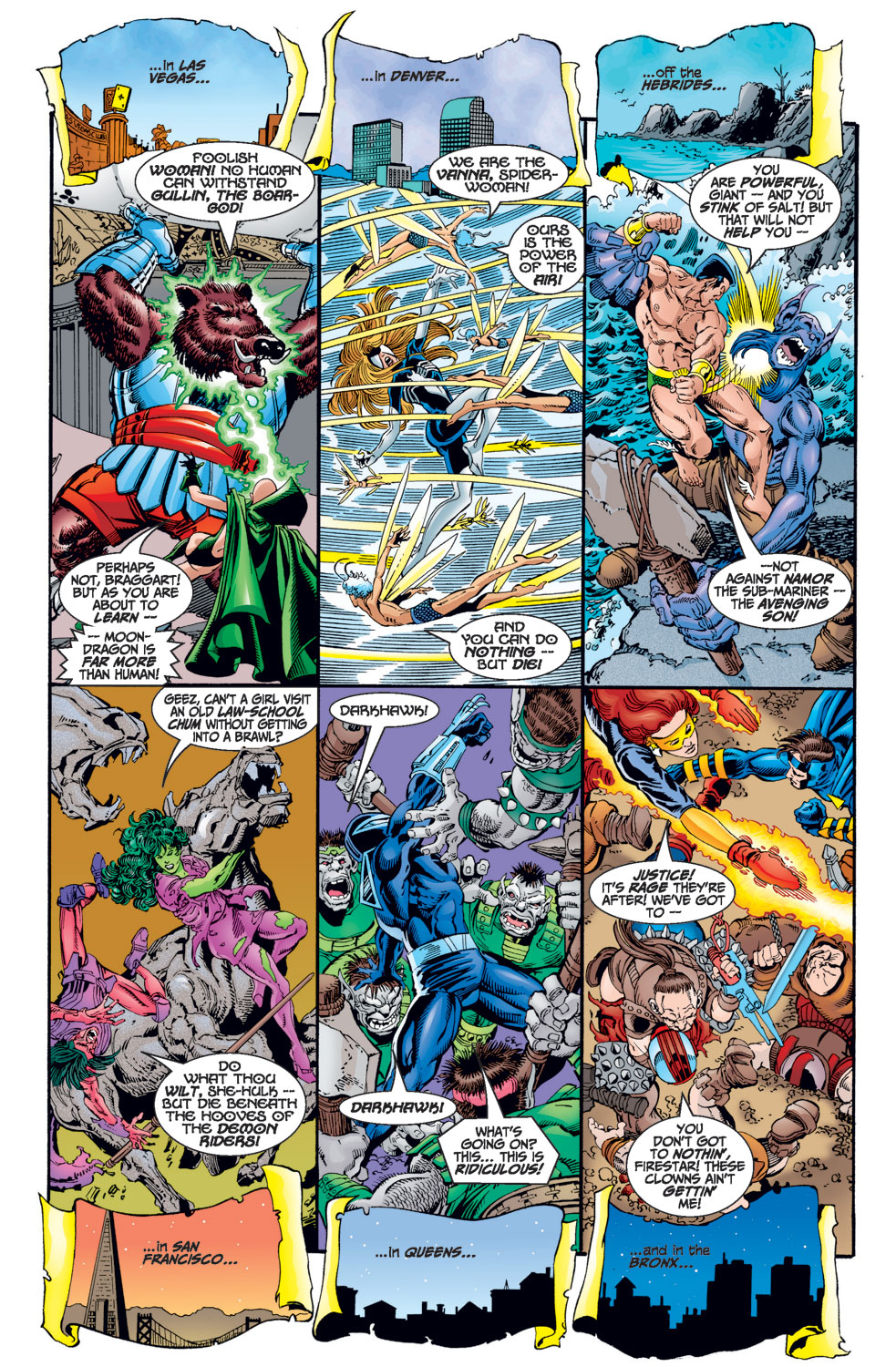 Avengers (1998) issue 1 - Page 7