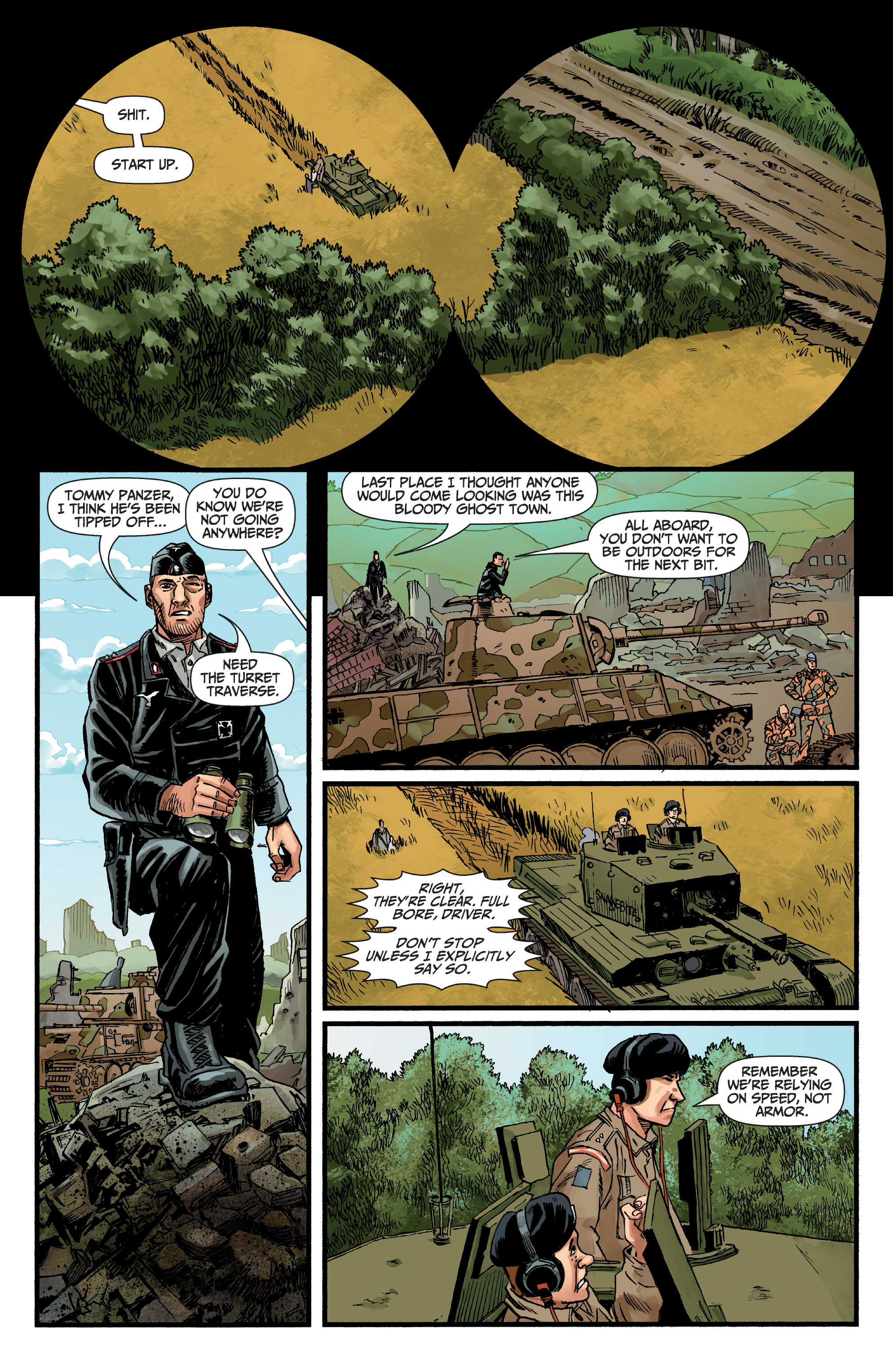 Read online World of Tanks comic -  Issue #5 - 11