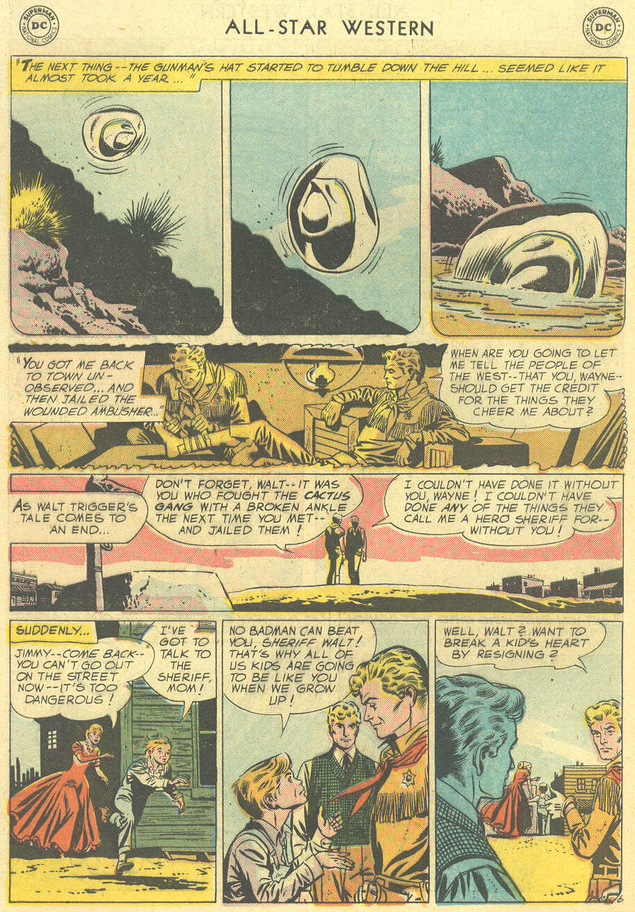 Read online All-Star Western (1951) comic -  Issue #101 - 8