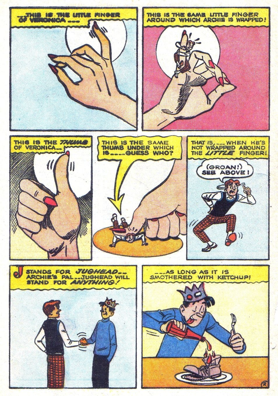 Read online Archie (1960) comic -  Issue #139 - 4