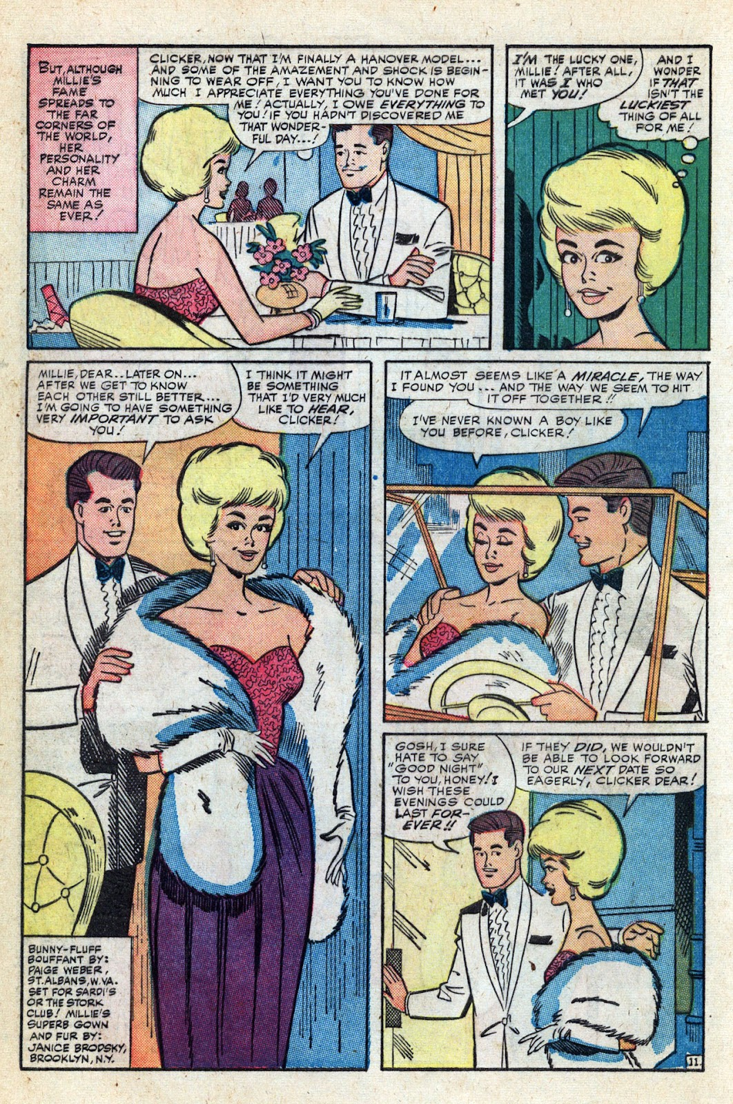 Read online Millie the Model comic -  Issue # Annual 3 - 34