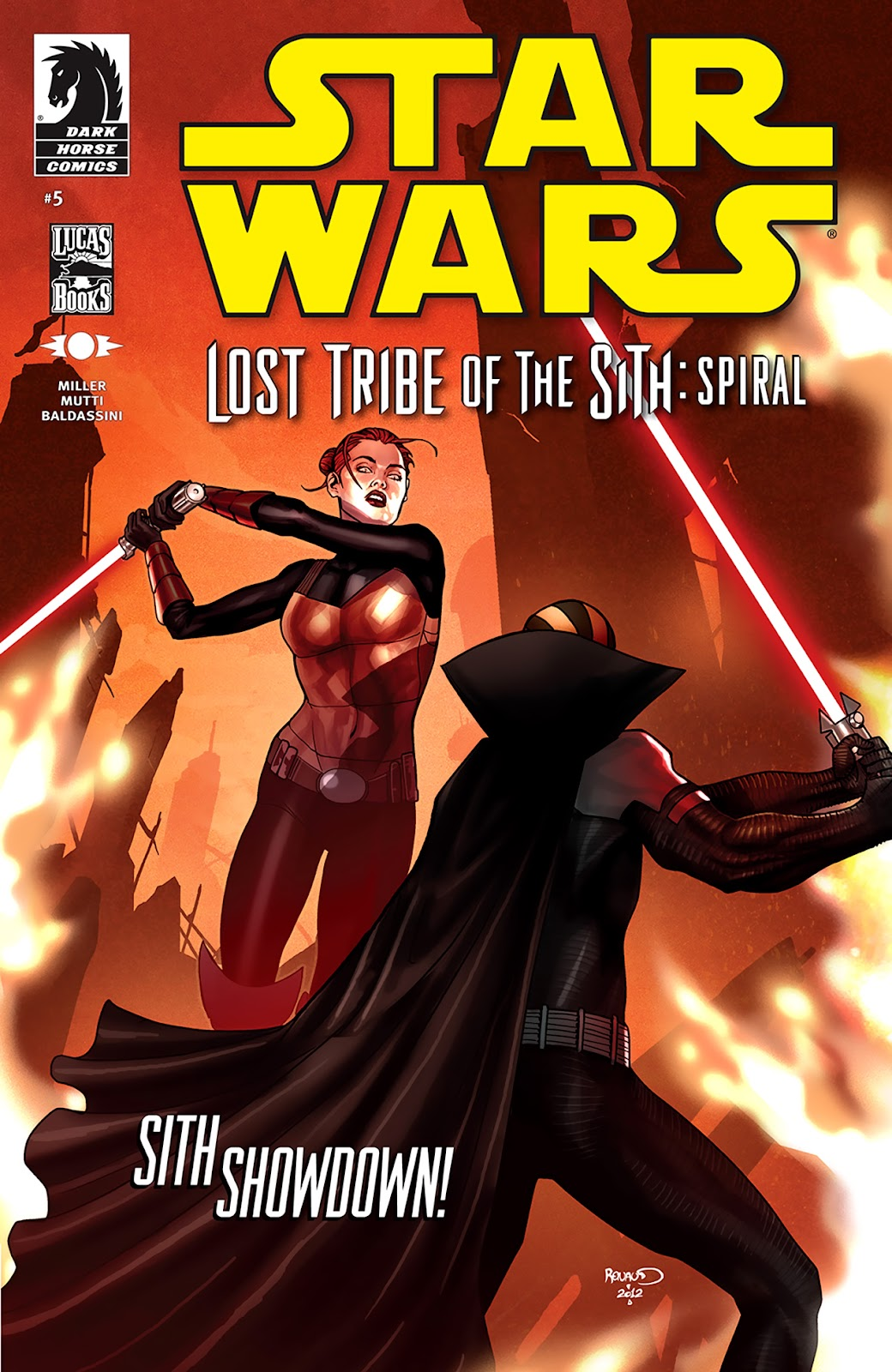 Star Wars: Lost Tribe of the Sith - Spiral 5 Page 1