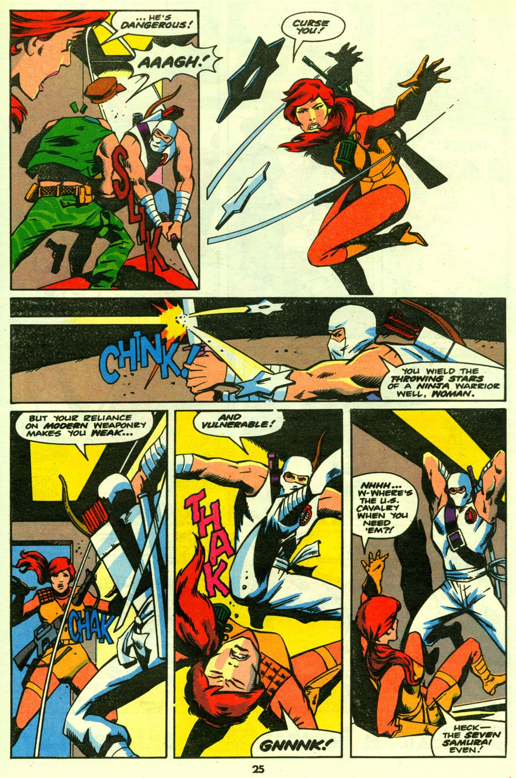 G.I. Joe European Missions issue 14 - Page 25