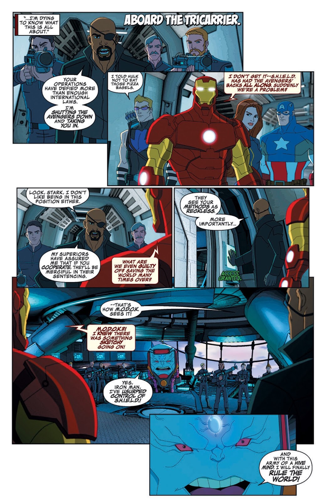 Read online Marvel Universe Avengers Assemble Season 2 comic -  Issue #8 - 8