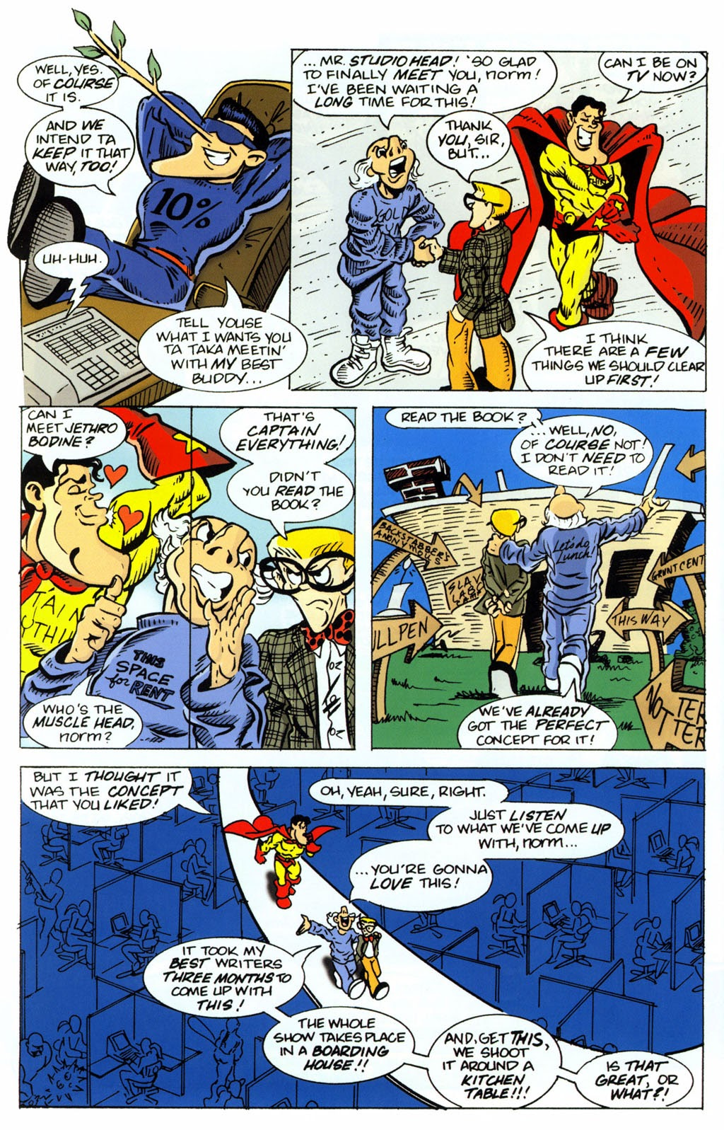 Read online Normalman 20th Anniversary Special comic -  Issue # Full - 32