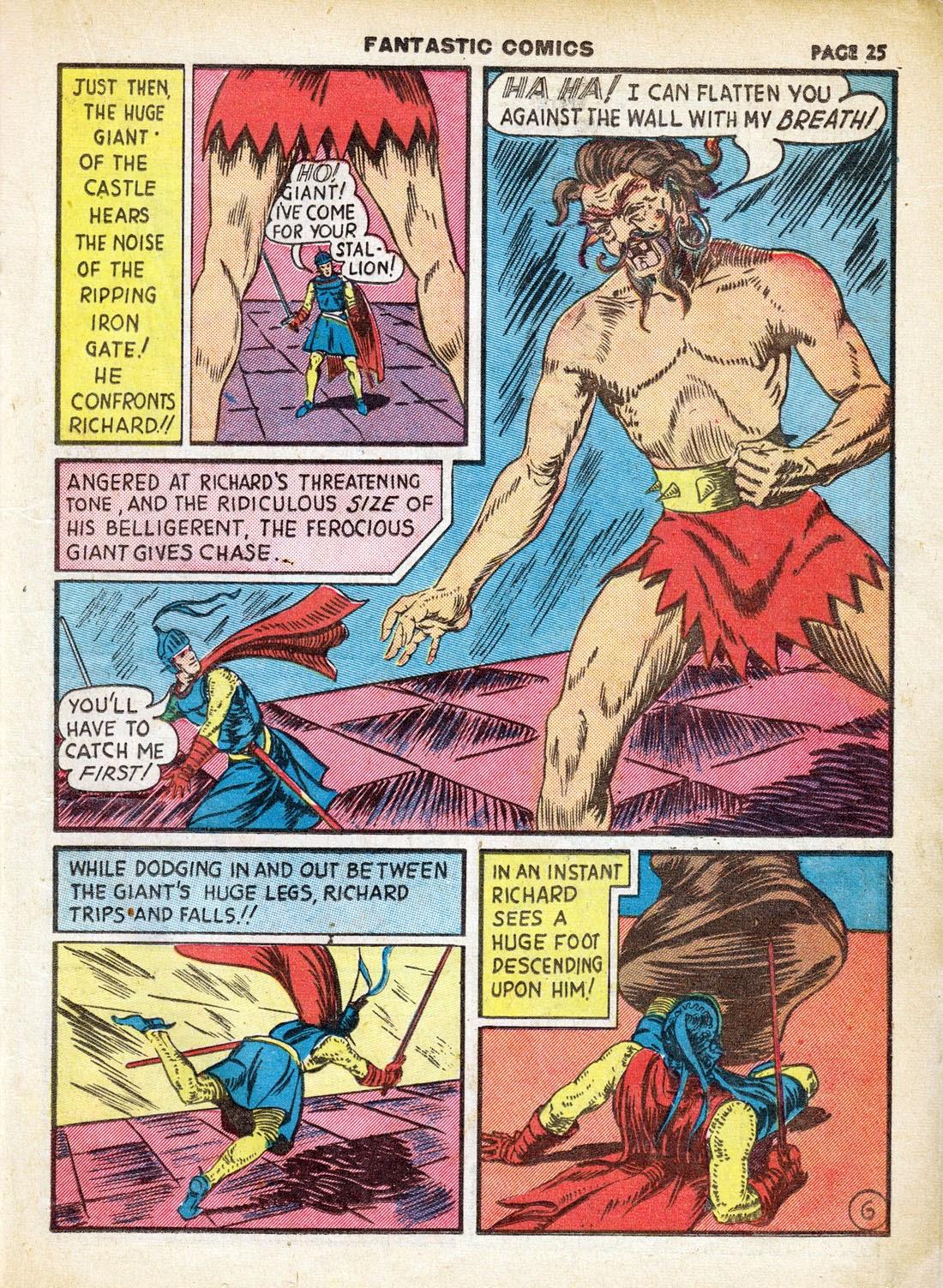 Read online Fantastic Comics comic -  Issue #7 - 27