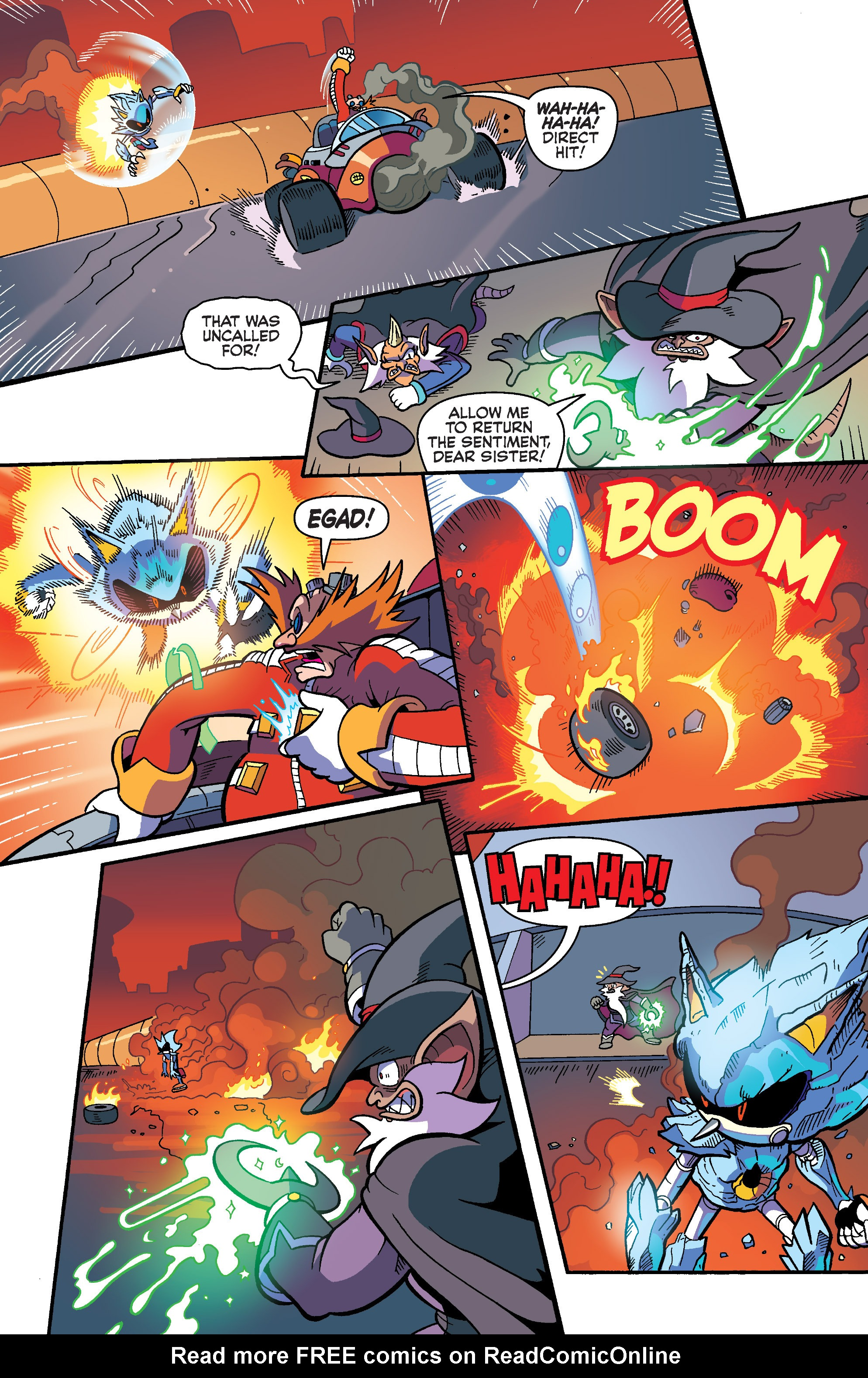 Read online Sonic Universe comic -  Issue #86 - 8