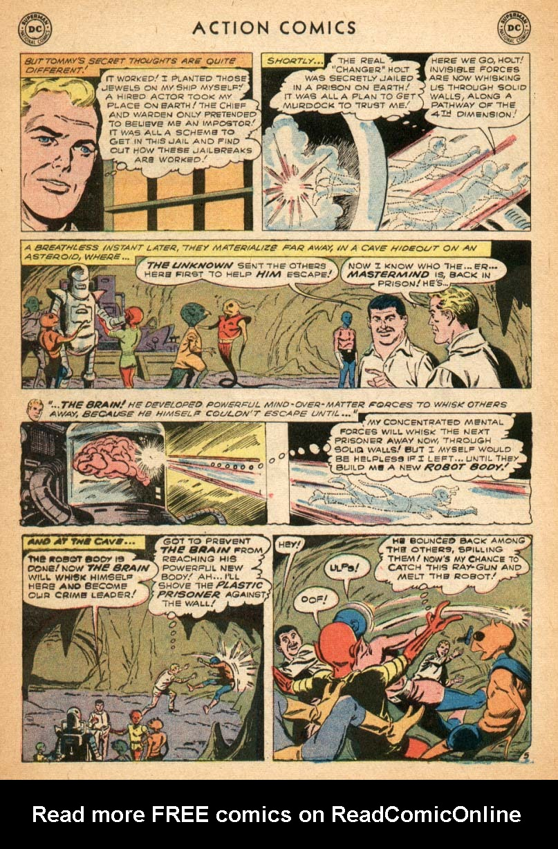 Read online Action Comics (1938) comic -  Issue #247 - 22