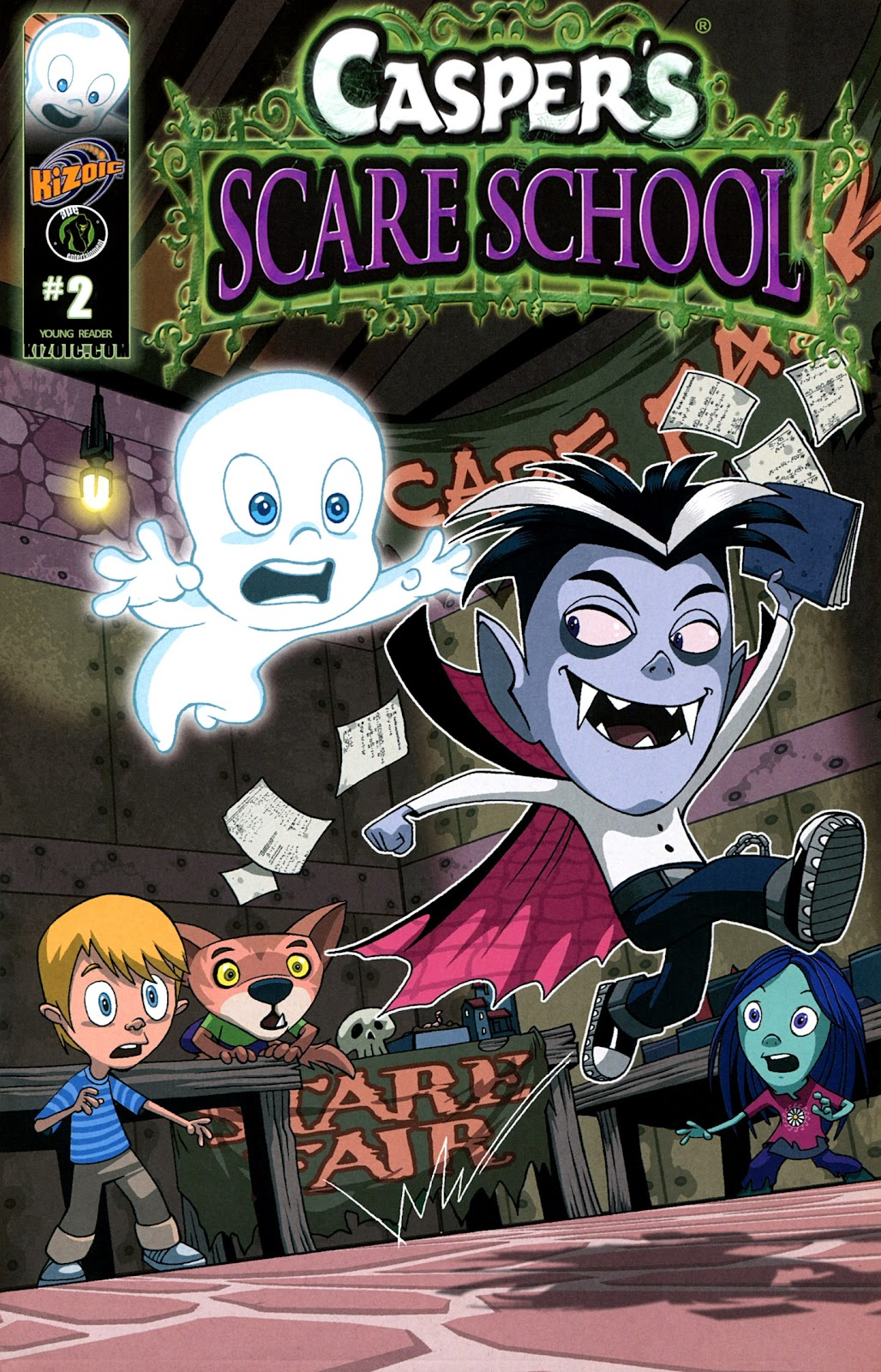 Read online Casper's Scare School comic -  Issue #2 - 1