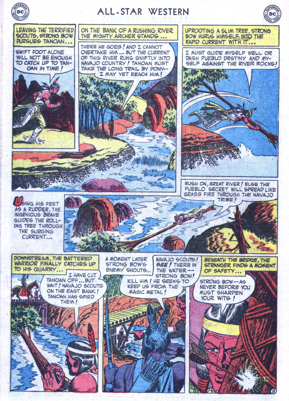 Read online All-Star Western (1951) comic -  Issue #59 - 46