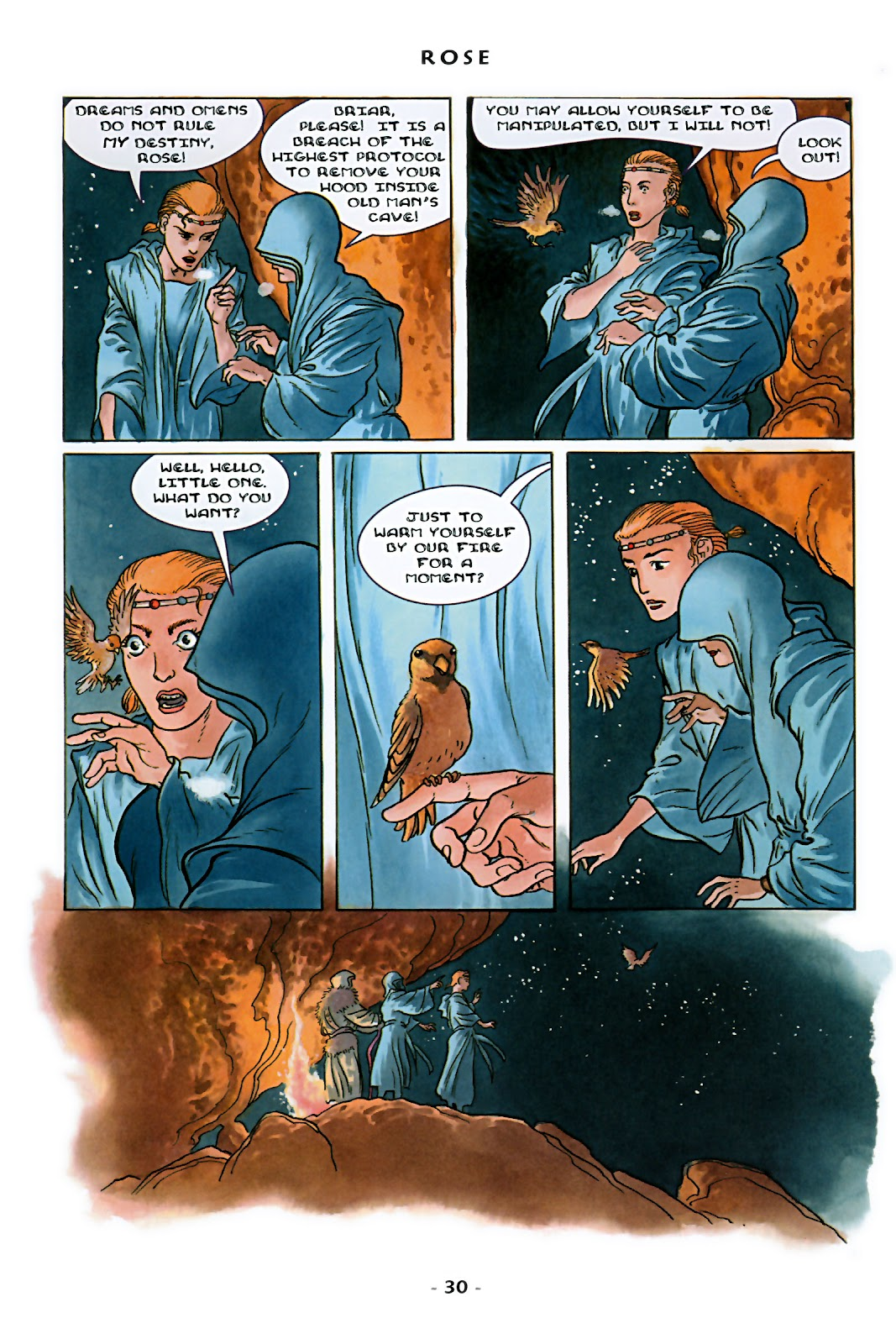 Read online Rose (2000) comic -  Issue # TPB - 36