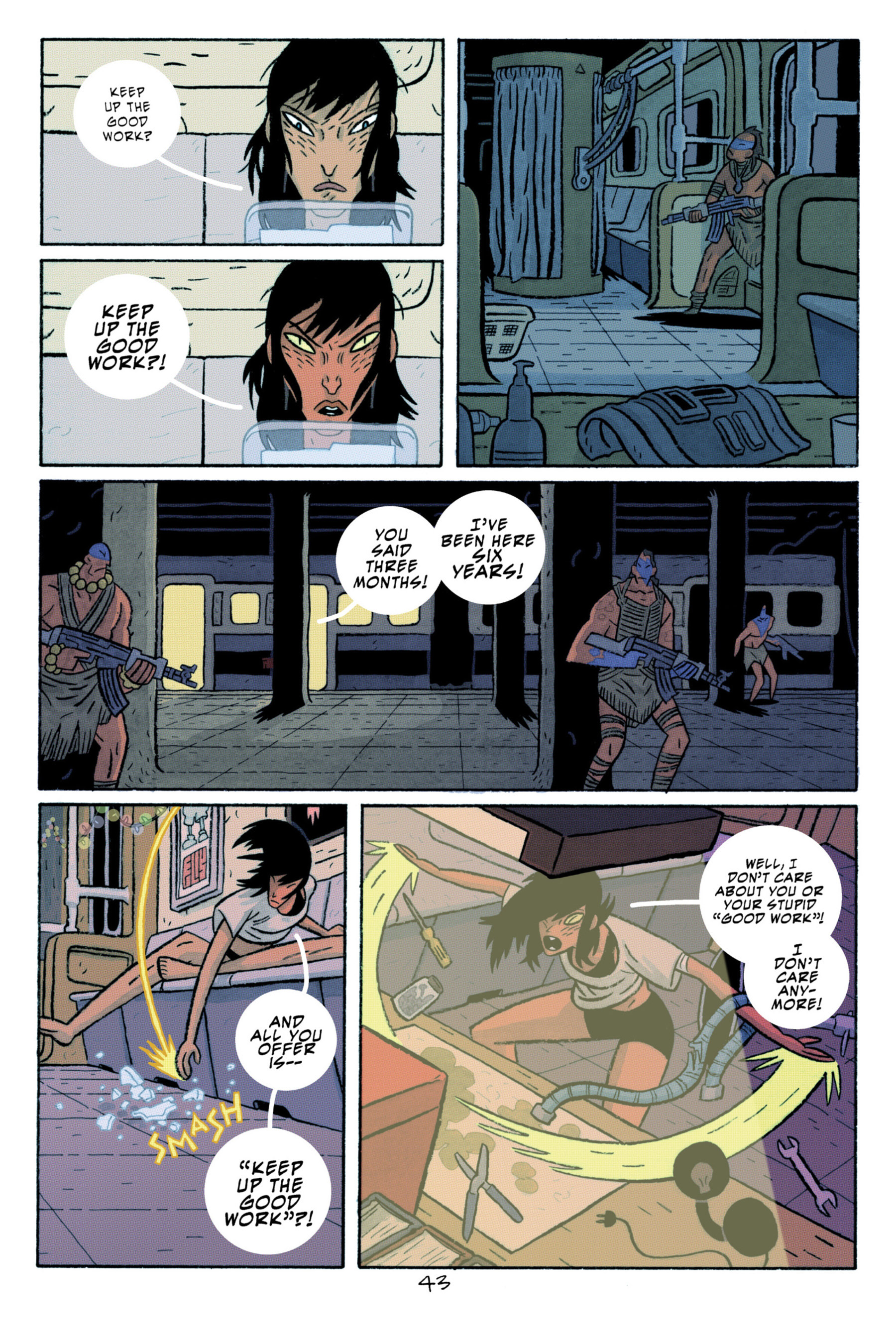 Read online ApocalyptiGirl: An Aria for the End Times comic -  Issue #ApocalyptiGirl: An Aria for the End Times Full - 51