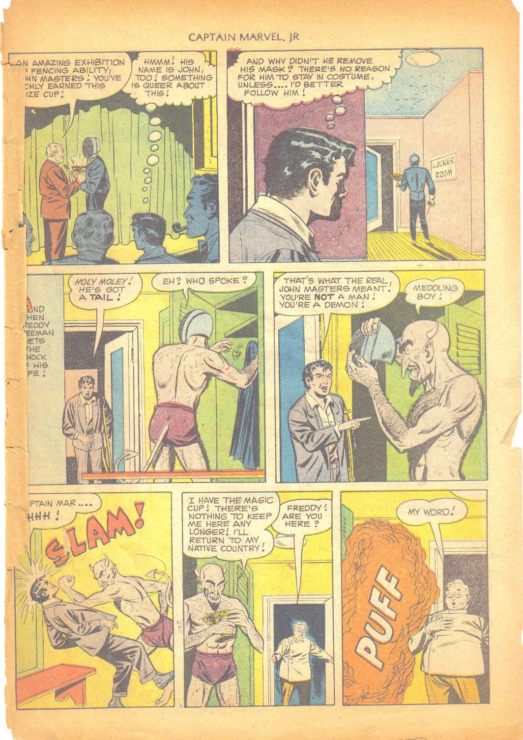Captain Marvel, Jr. issue 95 - Page 46