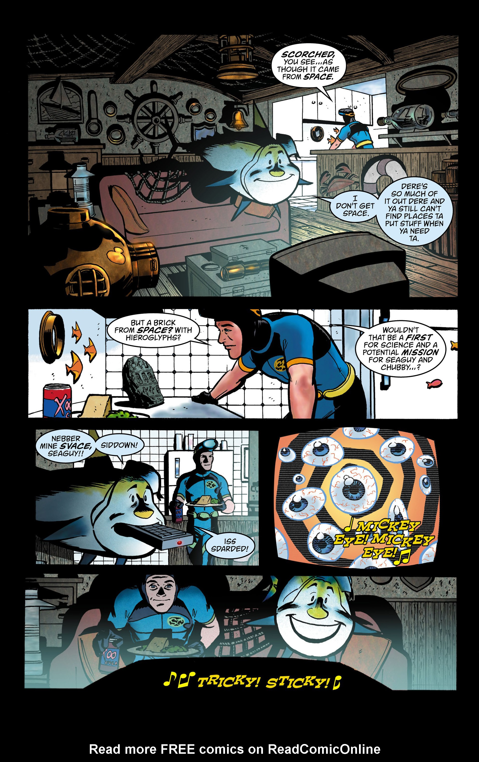 Read online Seaguy comic -  Issue #1 - 11
