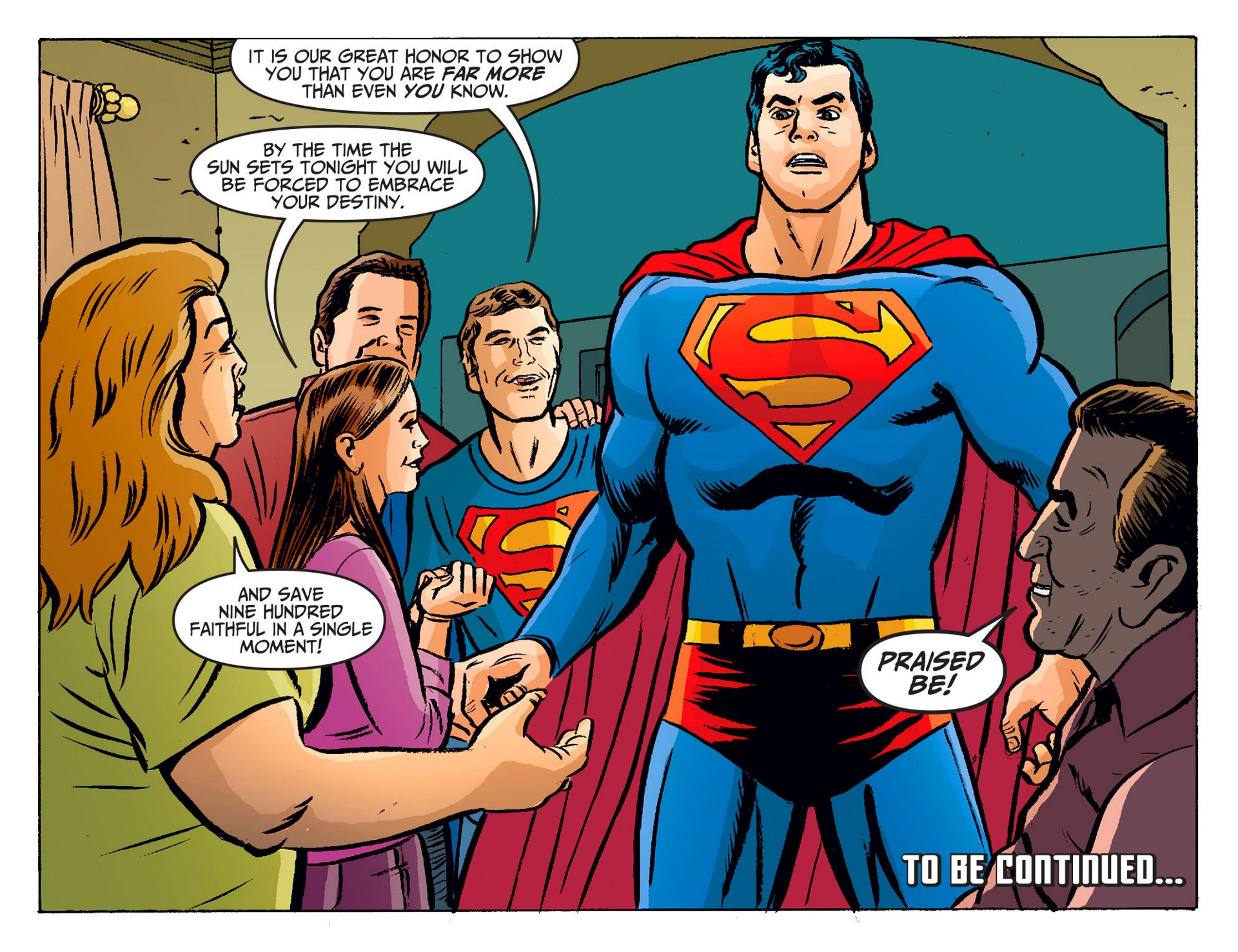 Read online Adventures of Superman [I] comic -  Issue #19 - 22
